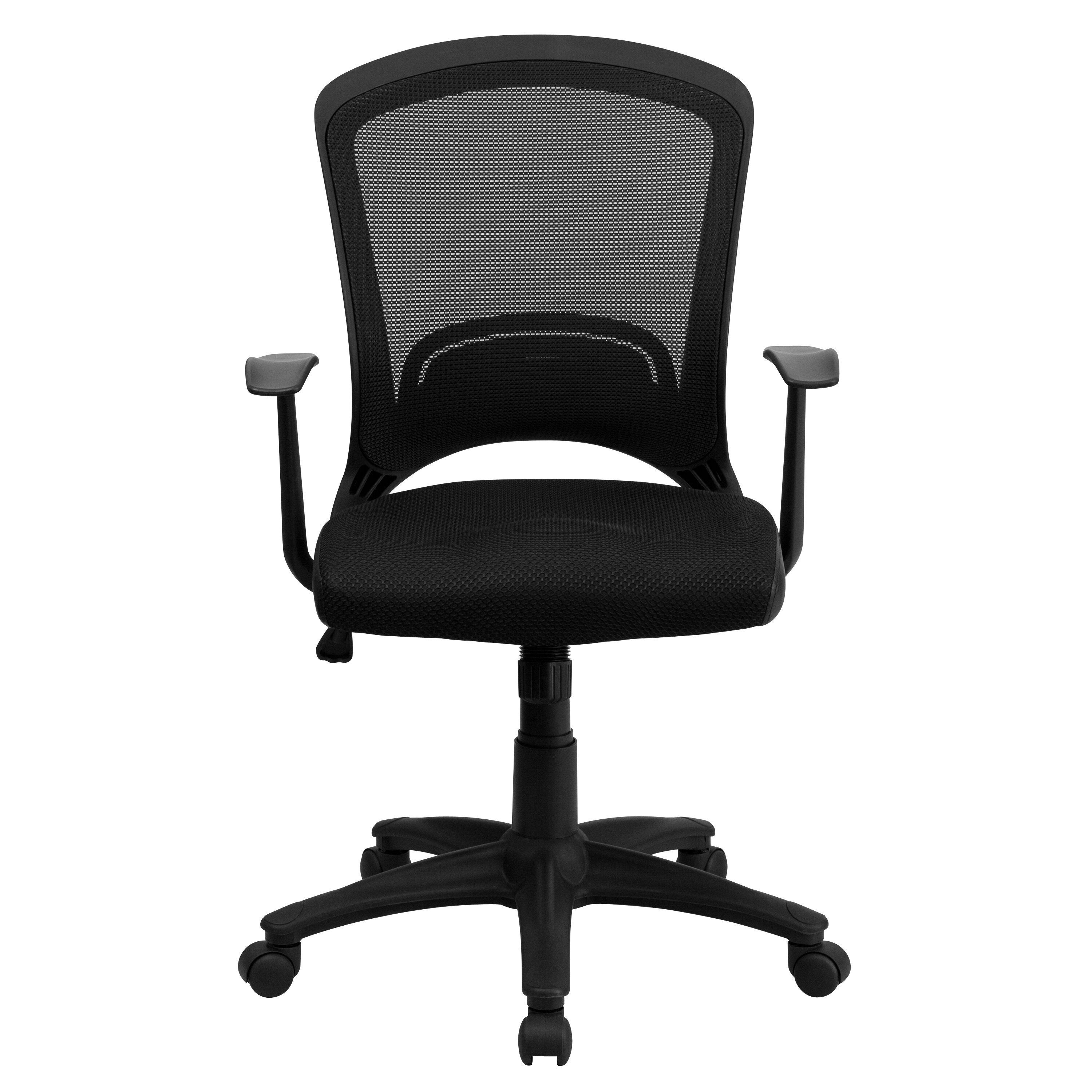 Flash Furniture Mesh Office Chair With Padded Seat Reviews Wayfair