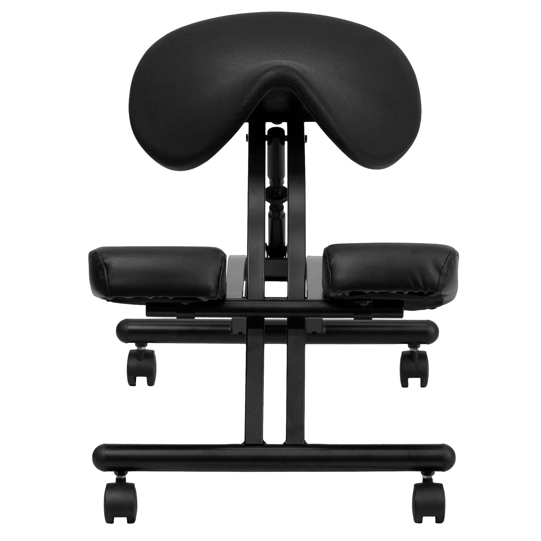 Flash Furniture Ergonomic Kneeling Chair & Reviews
