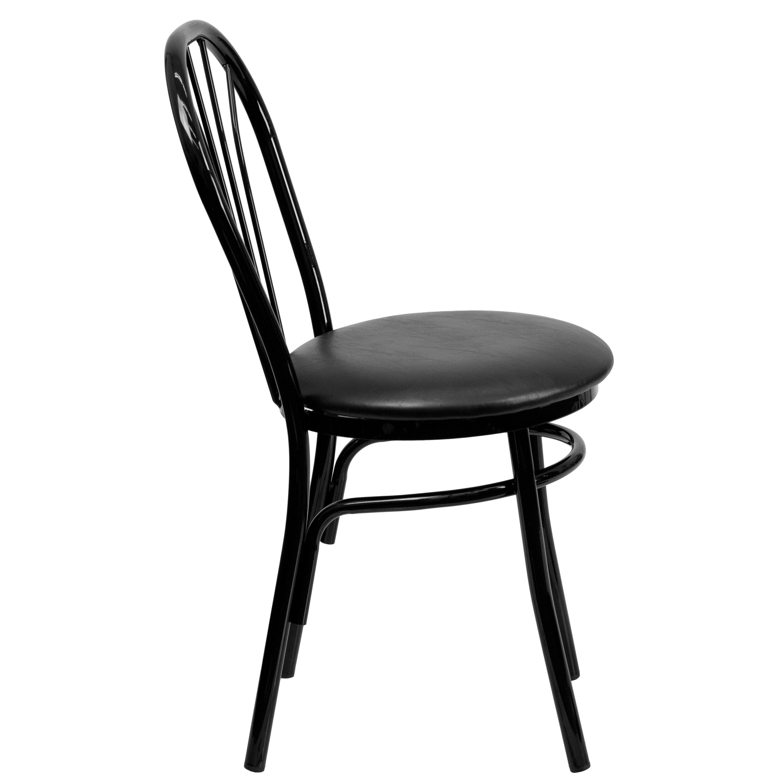 Flash Furniture Hercules Series Fan Back Metal Chair Reviews Wayfair