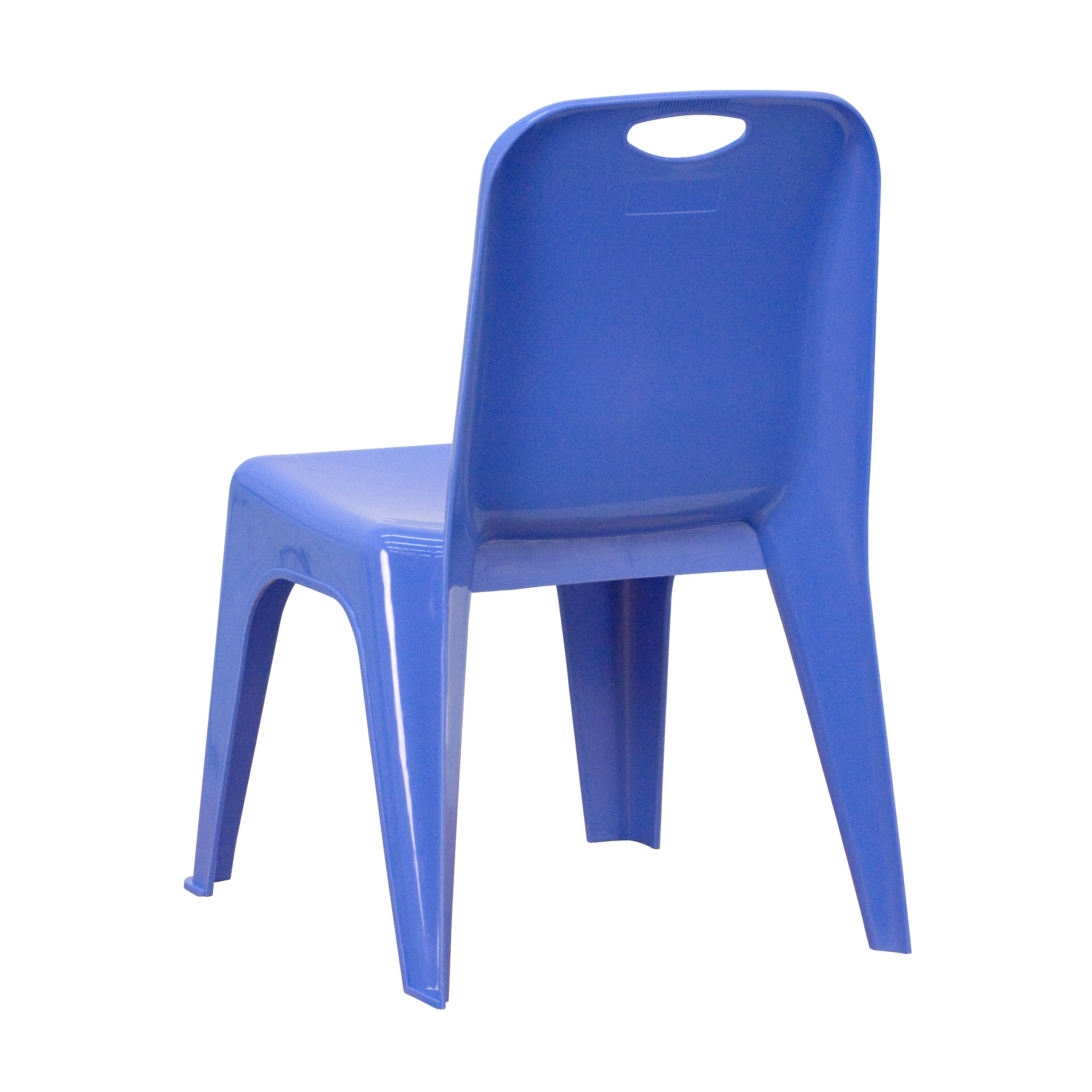 Flash furniture stackable personalized kids desk chair for Monogrammed kids chair