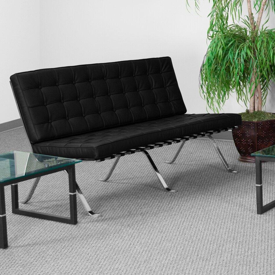 Flash Furniture Hercules Flash Series Loveseat Reviews Wayfair Supply