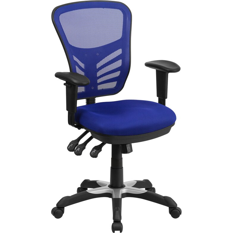 flash furniture mid back mesh office chair reviews wayfair