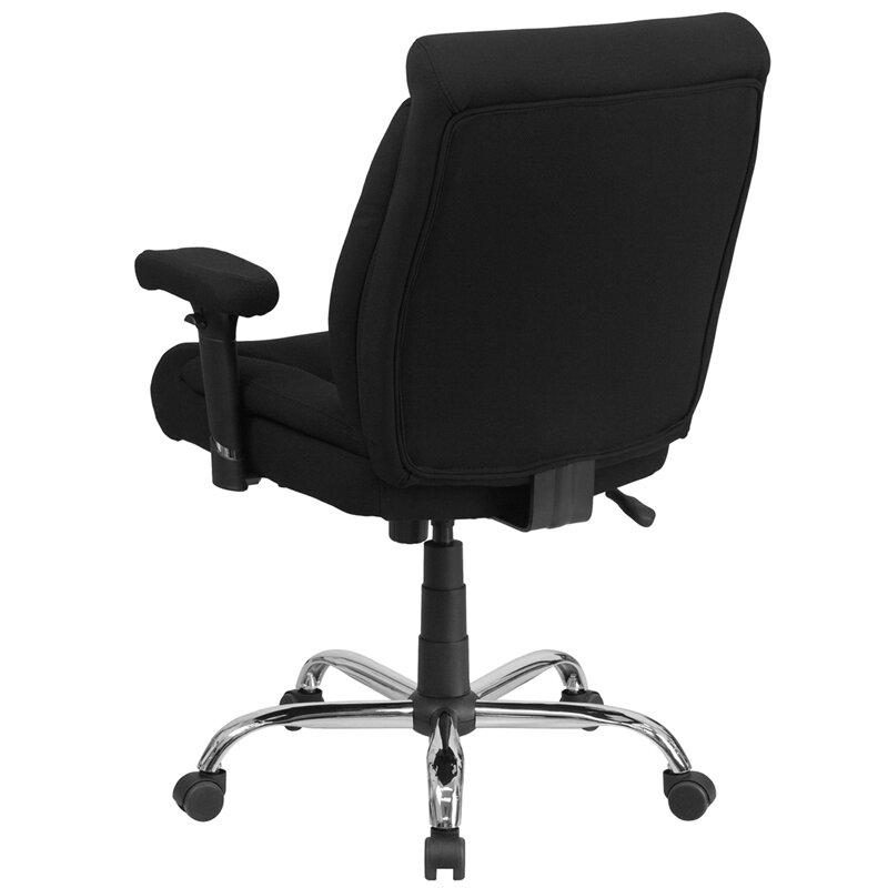 Flash Furniture Hercules Series Mid Back Desk Chair Reviews Wayfair