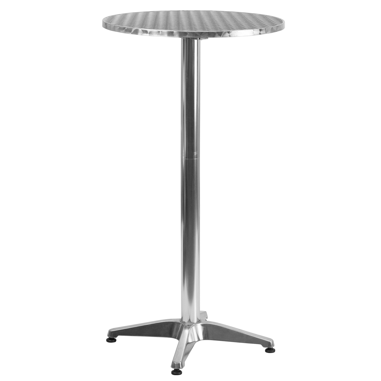flash furniture folding bar table reviews wayfair