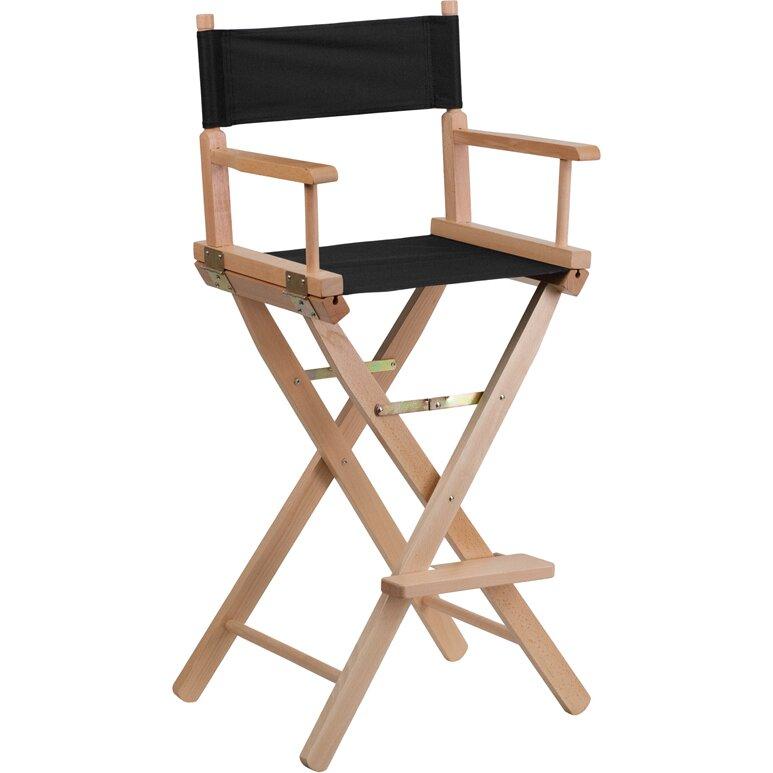 Flash Furniture Bar Height Directors Chair Amp Reviews Wayfair