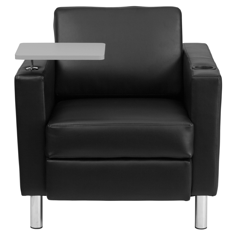 Flash Furniture Leather Guest Chair Reviews Wayfair
