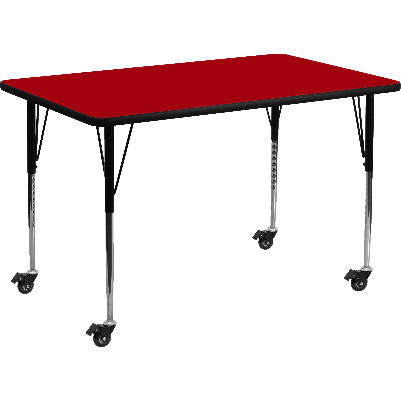 Flash Furniture Rectangular Activity Table Reviews Wayfair Supply