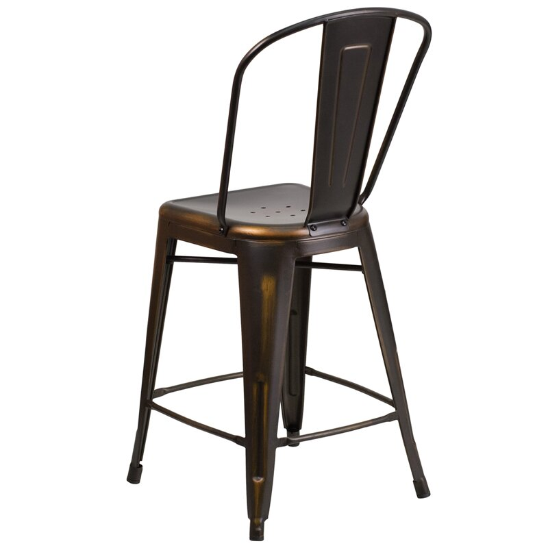 Flash furniture 24 bar stool reviews wayfair for Furniture 24