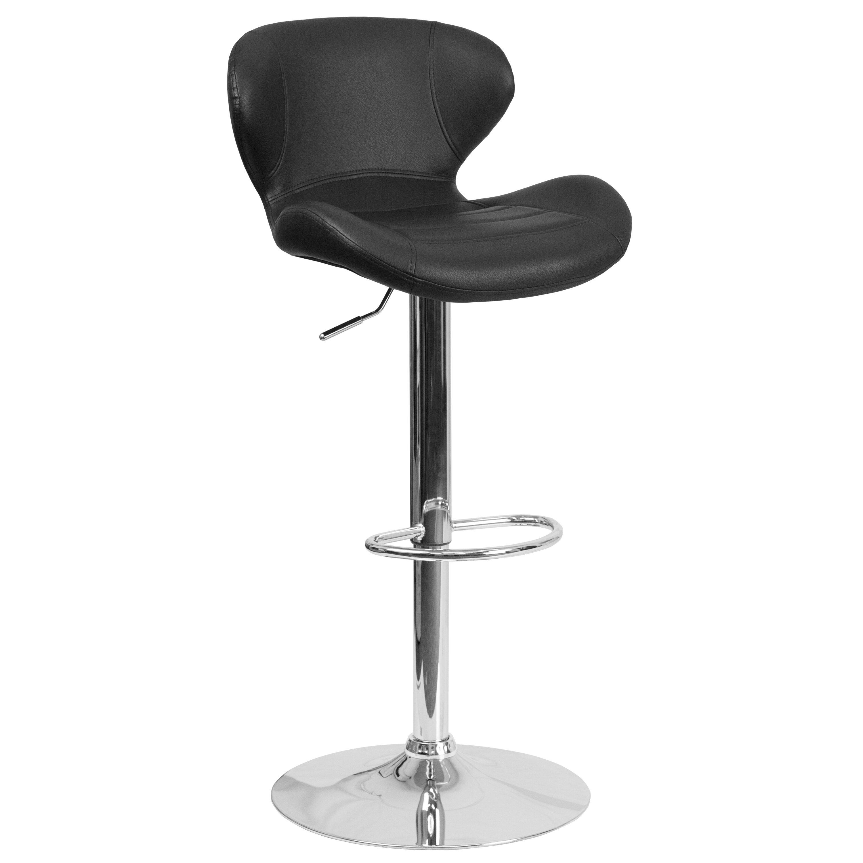 Flash Furniture Adjustable Height Swivel Bar Stool Reviews Wayfair Supply