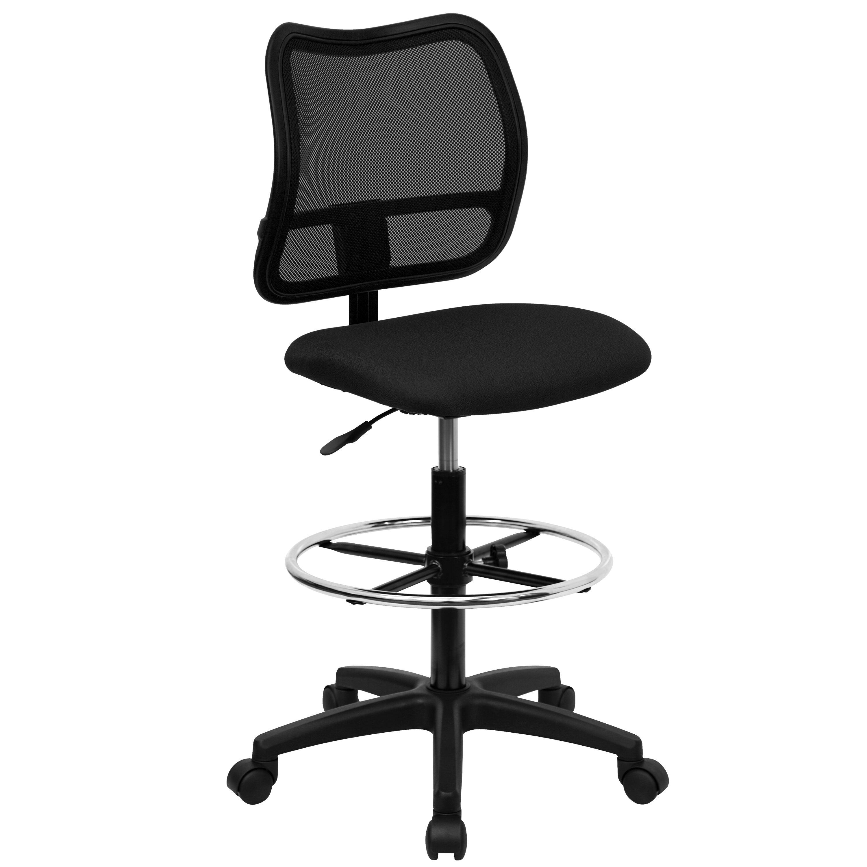 Flash Furniture Height Adjustable Drafting Stool With Cutout Reviews Wayfair