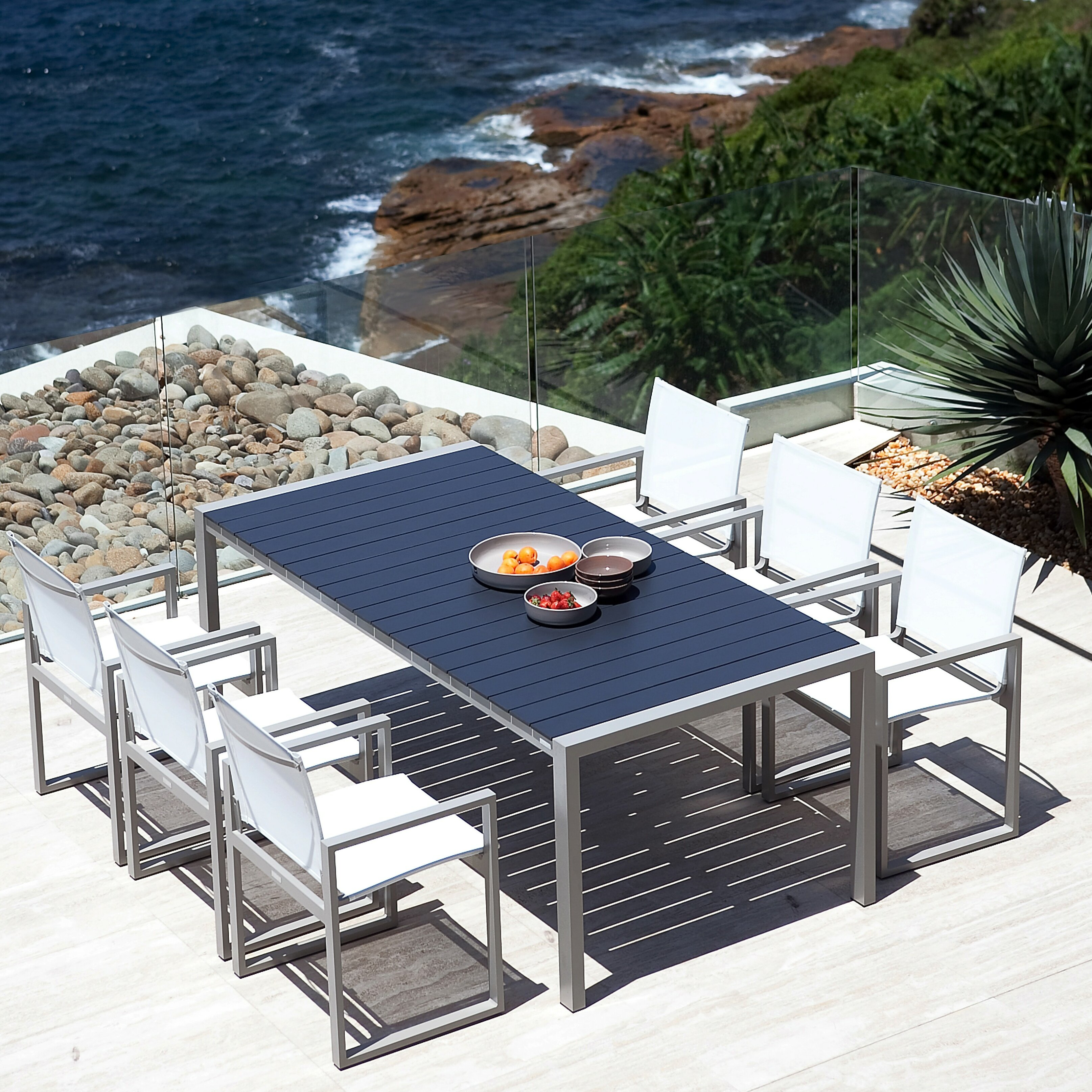 Harbour Outdoor Piano Dining Table