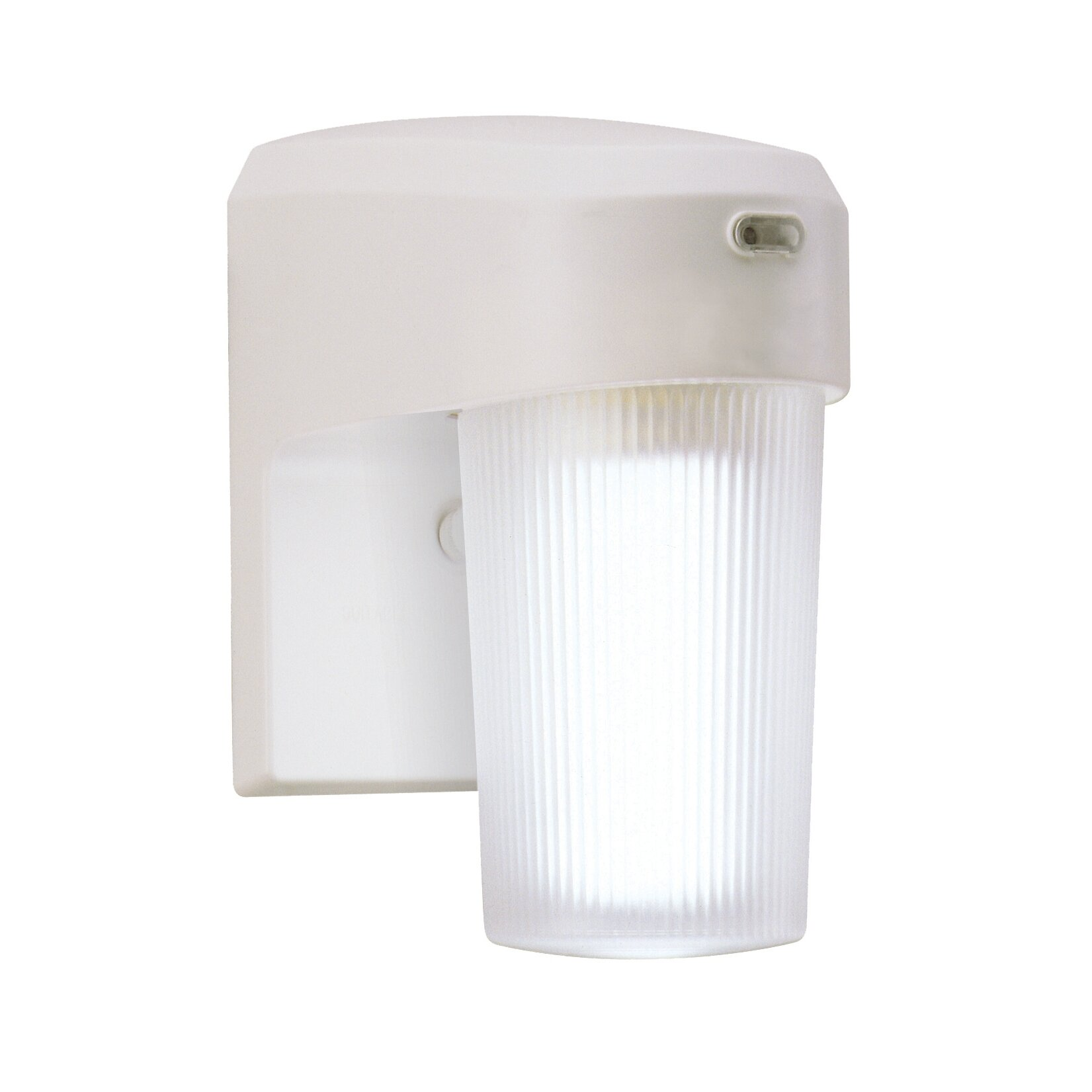 Cooper Lighting 13 Watt CFL Dusk-to-Dawn Light In White