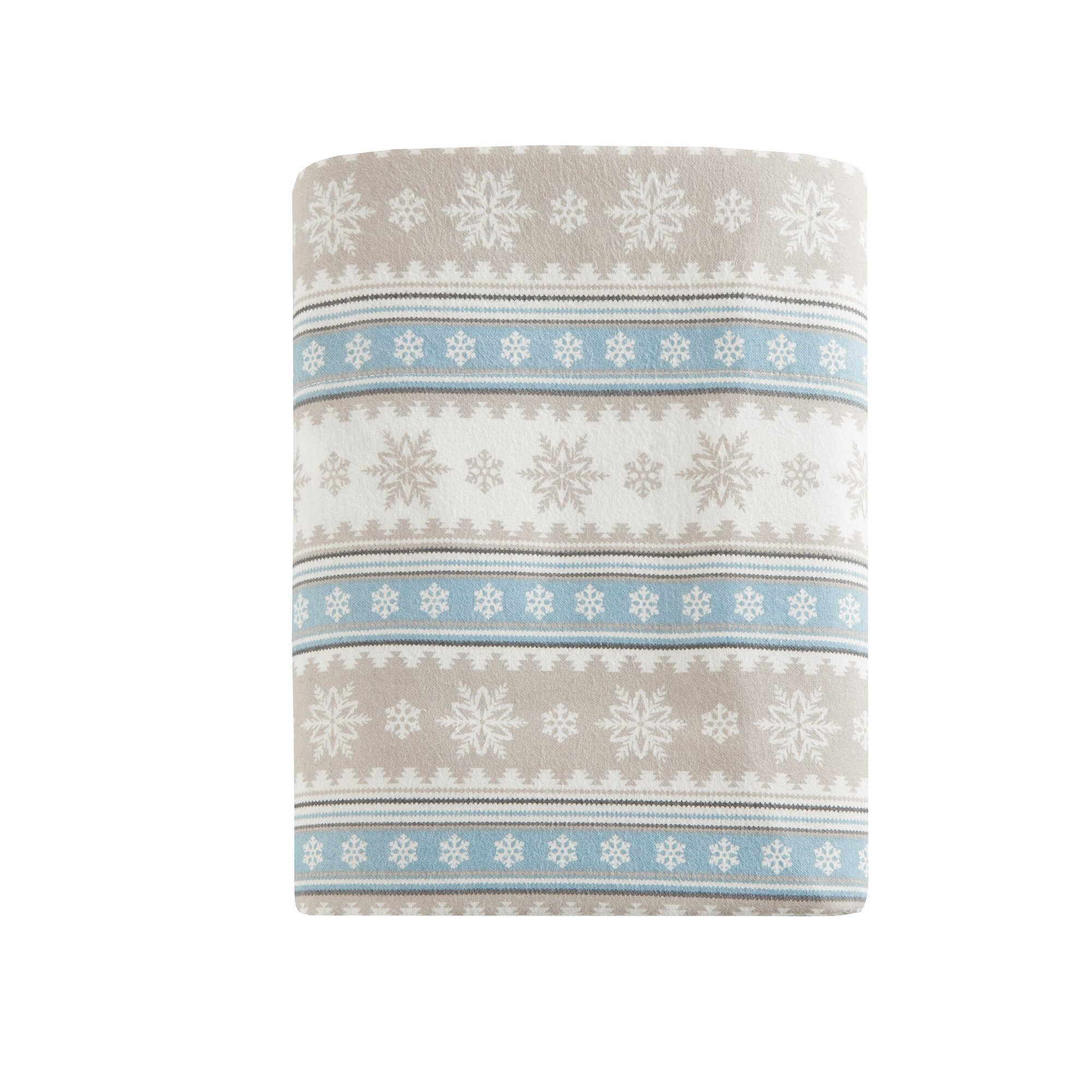 Woolrich Nordic Snowflake Flannel Sheet Set Amp Reviews