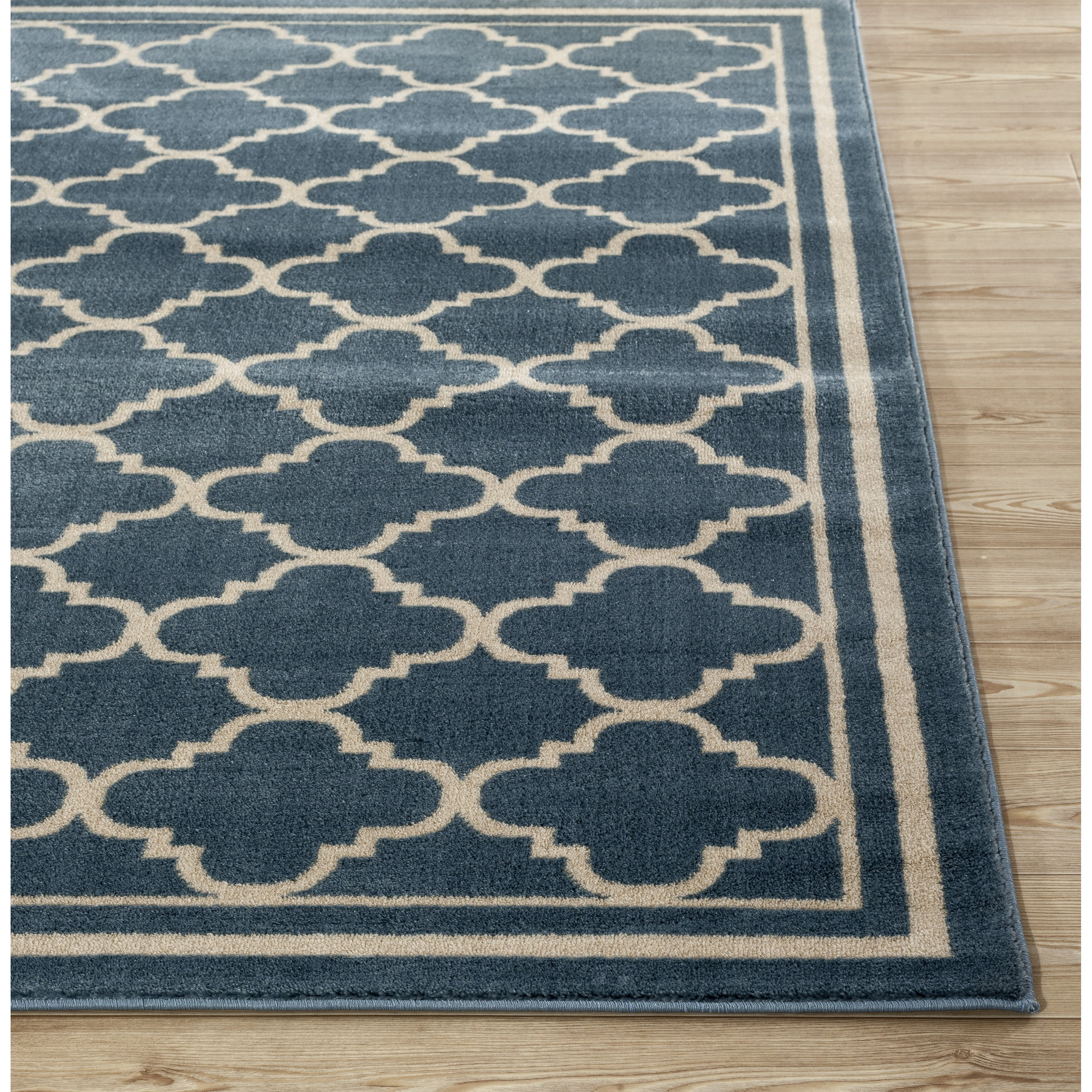 World Rug Gallery Alpine Blue Area Rug & Reviews