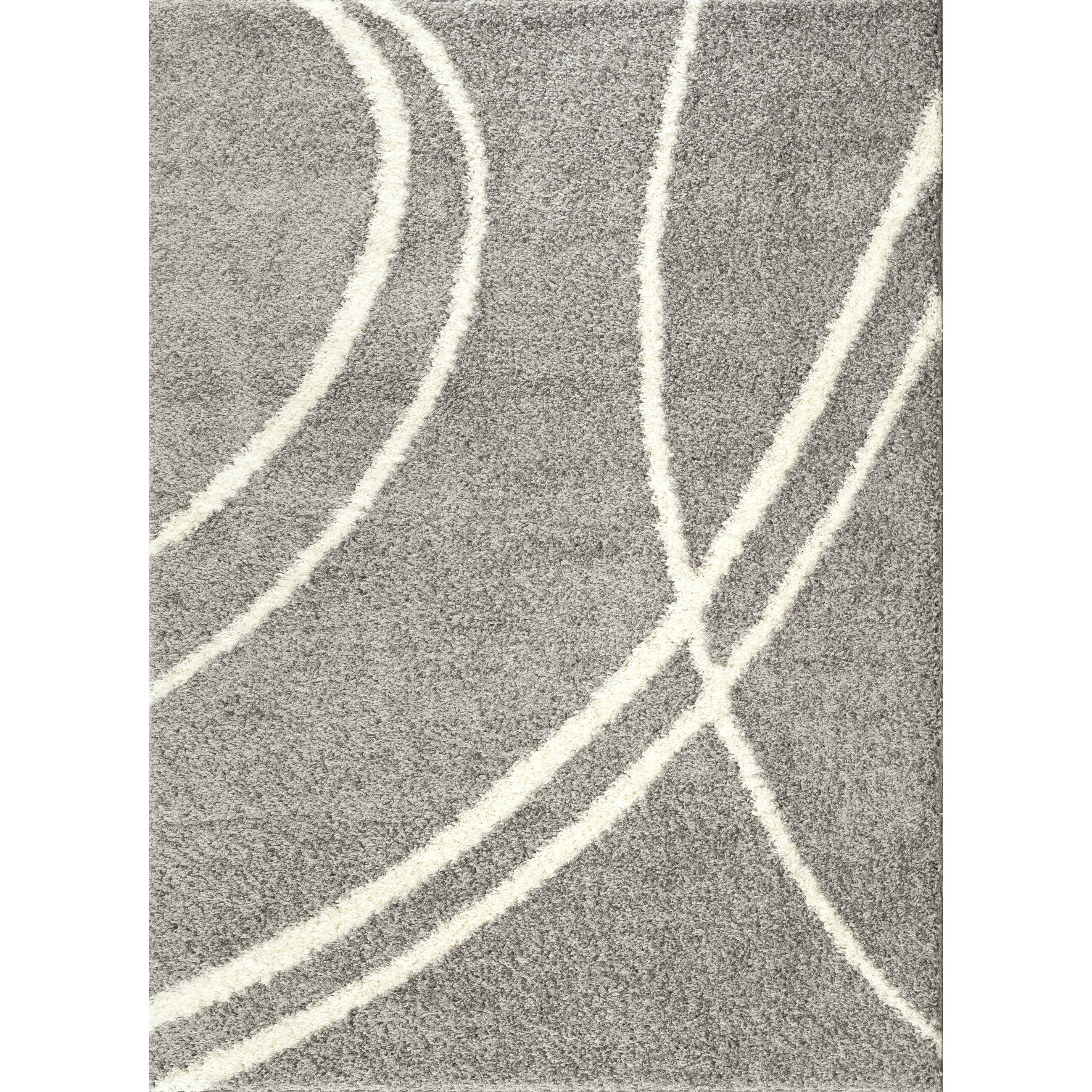 8x10 Area Rugs Gray And White: World Rug Gallery Florida Light Gray/White Area Rug