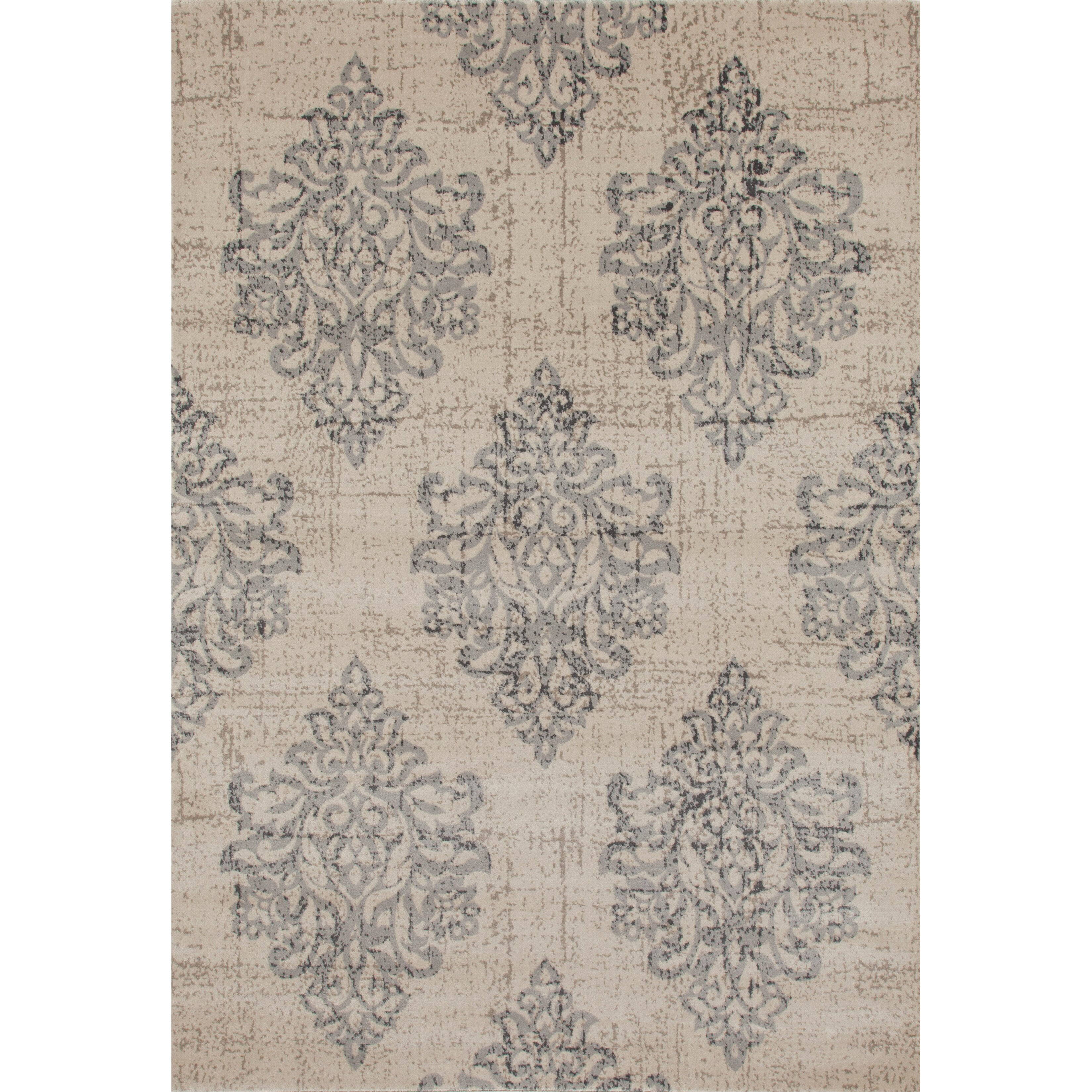 World rug gallery elite soft gray area rug reviews wayfair for Soft area rugs