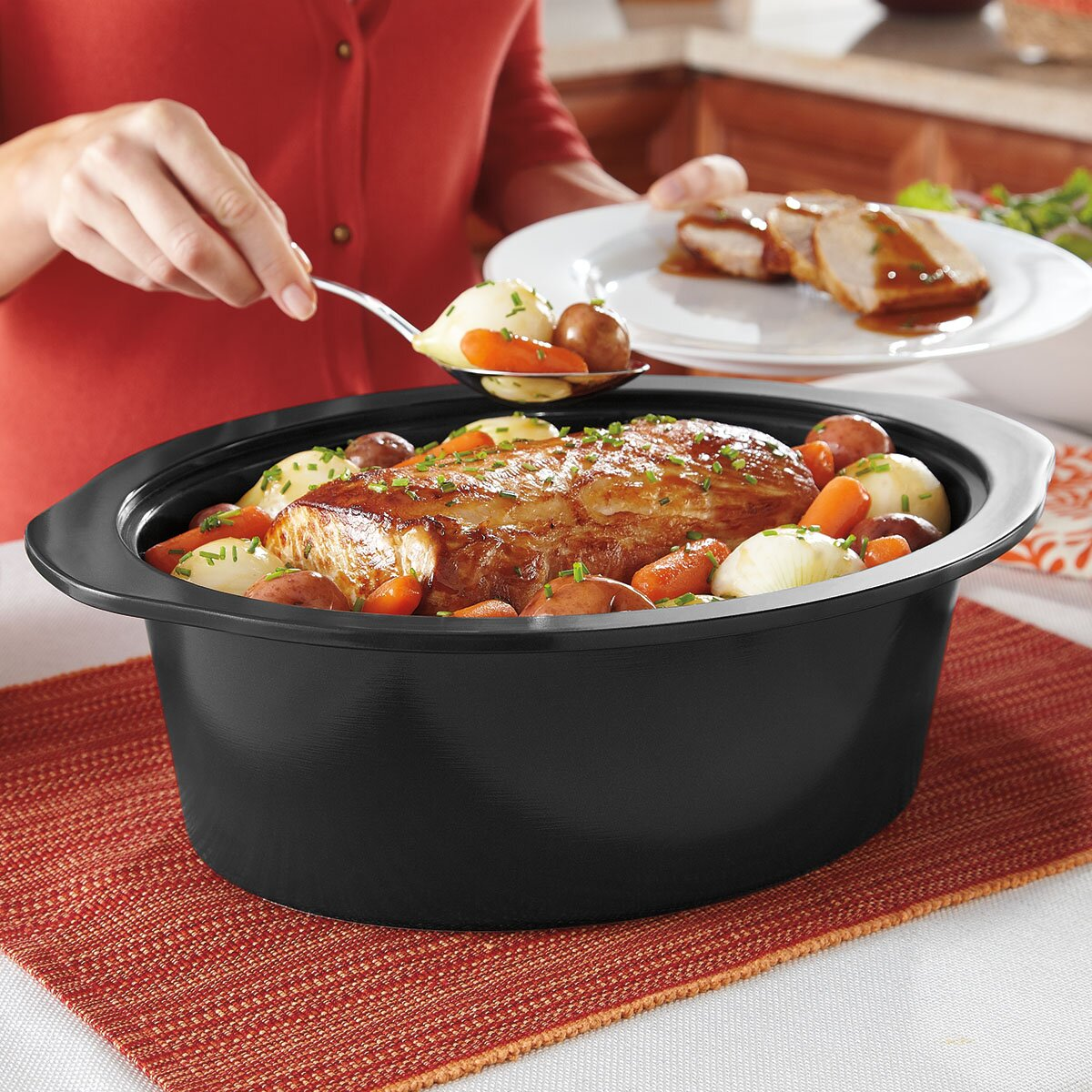 Crock Pot 6 Qt Countdown Slow Cooker With Stove Top