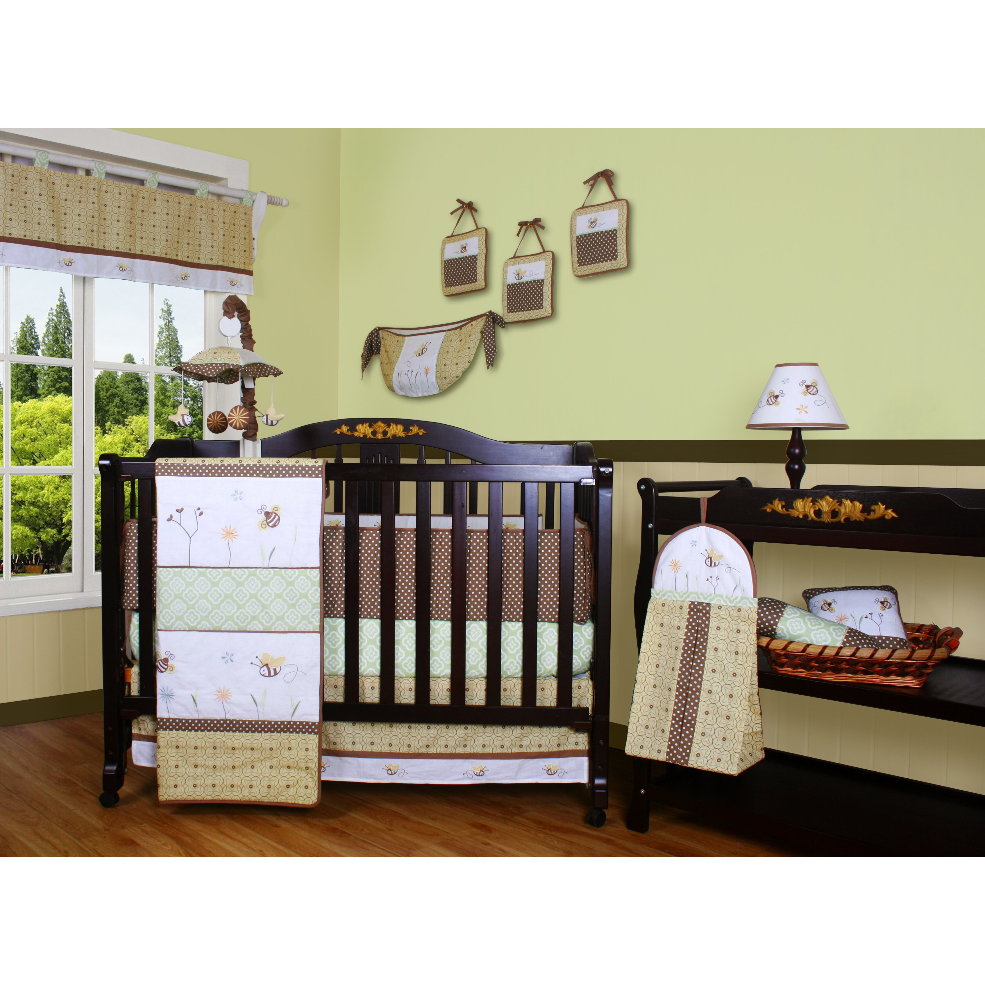 Geenny boutique bumble bee 13 piece crib bedding set reviews wayfair - Geenny crib bedding sets ...