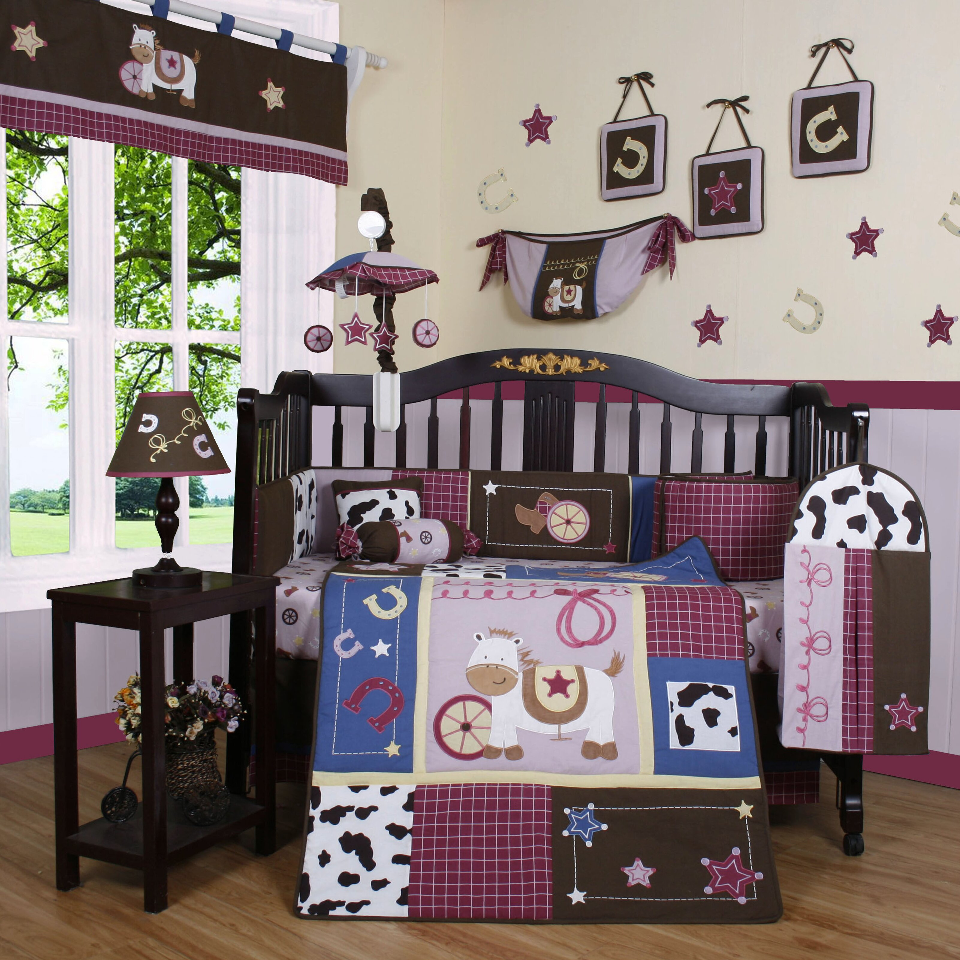 Geenny boutique western 13 piece crib bedding set reviews wayfair - Geenny crib bedding sets ...