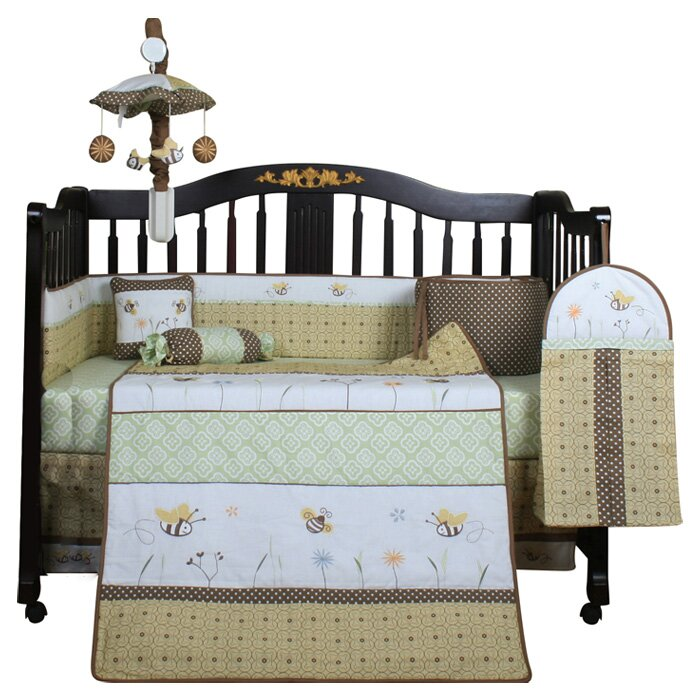 Geenny Boutique Bumble Bee 13 Piece Crib Bedding Set