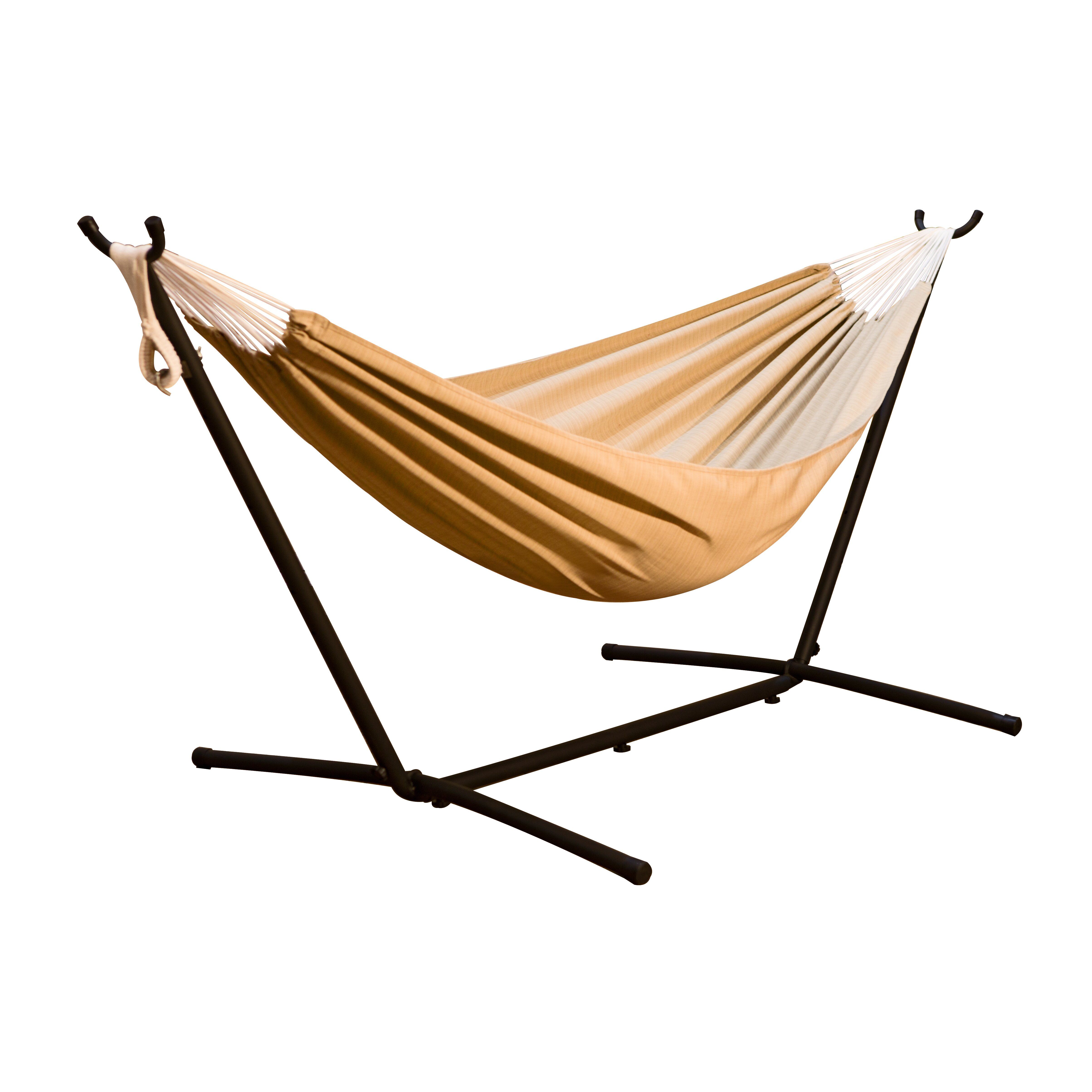 Vivere Hammocks Combo Hammock With Stand Amp Reviews Wayfair