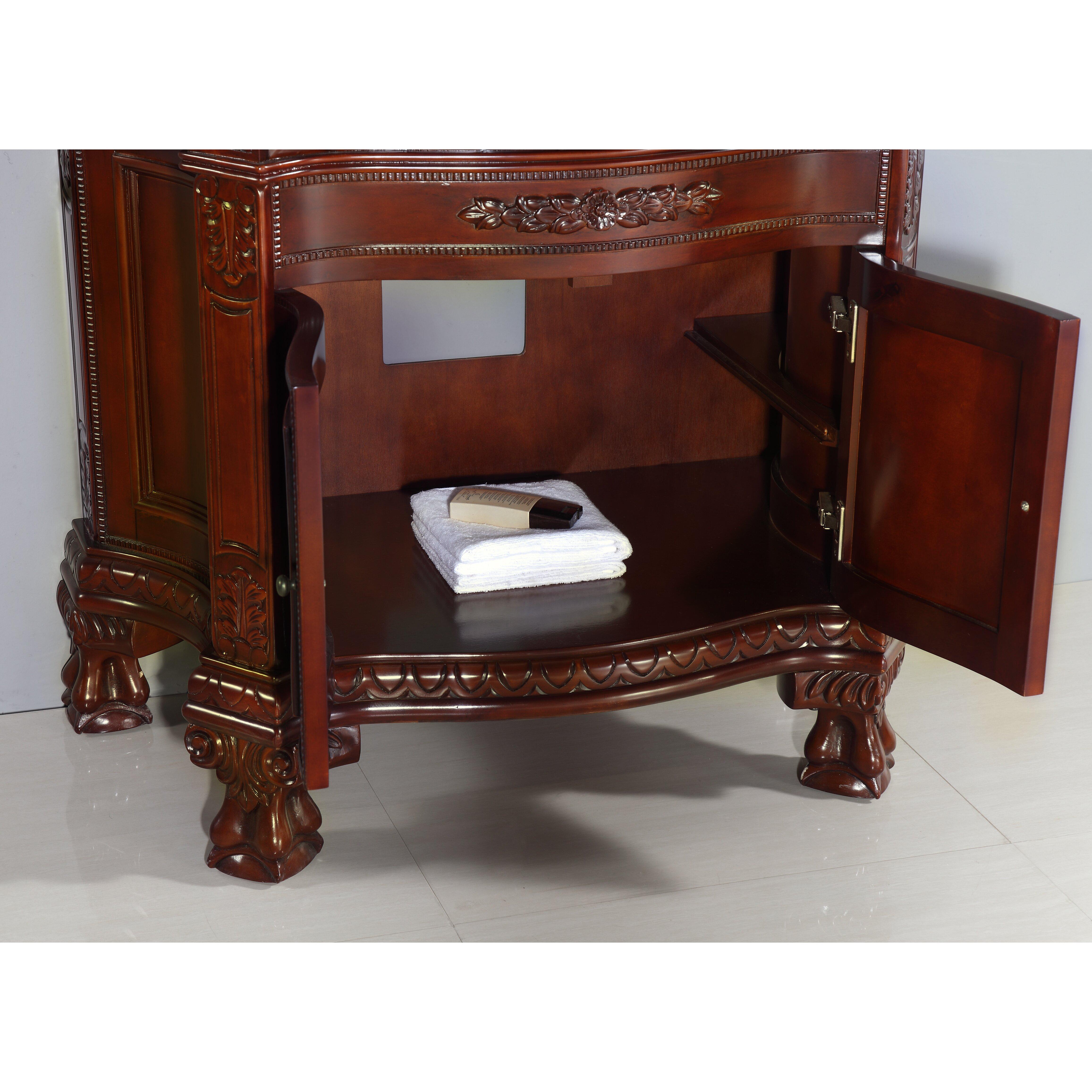 ove decors bromley 36 single bathroom vanity set