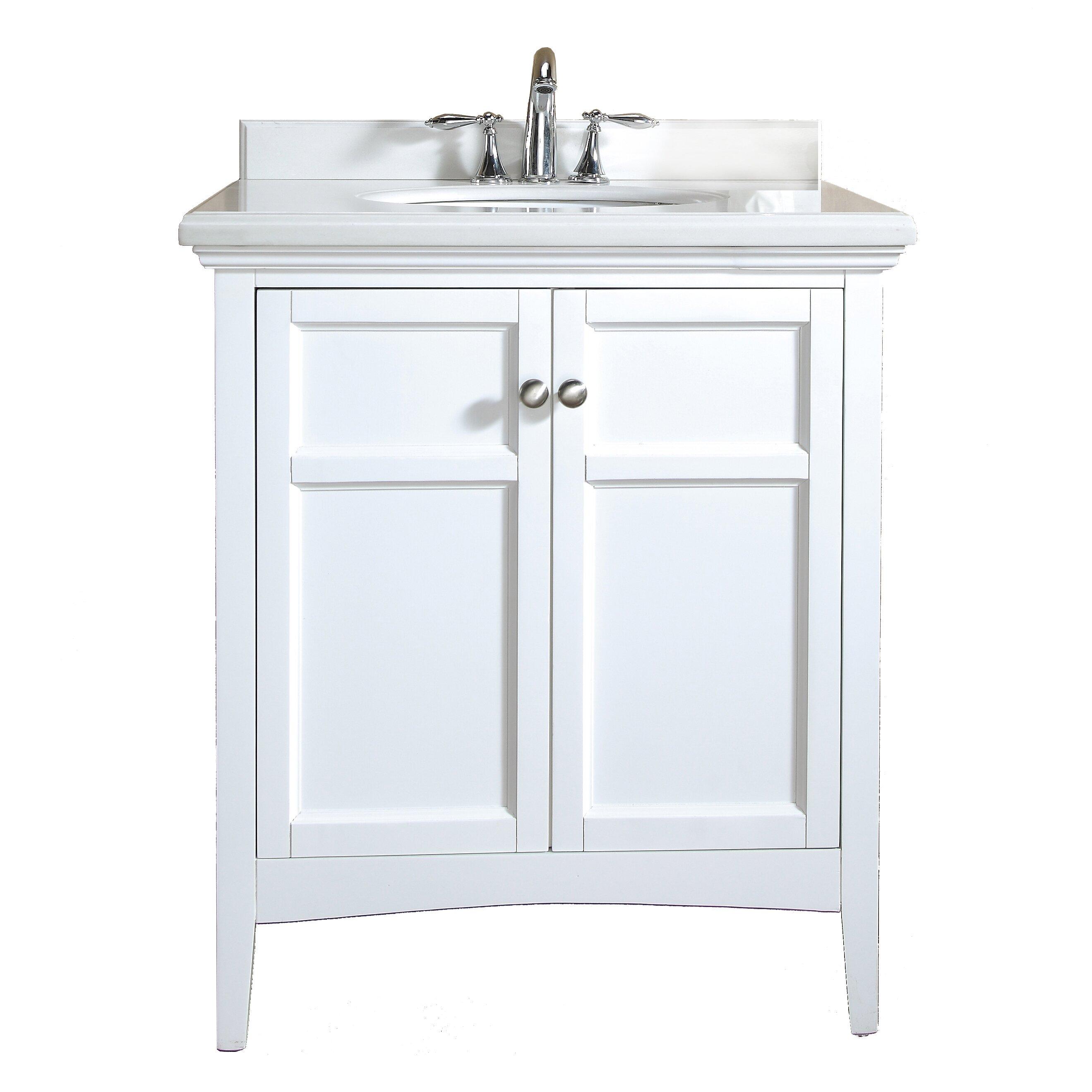 Ove decors campo 30 single bathroom vanity set reviews for Decor vanity