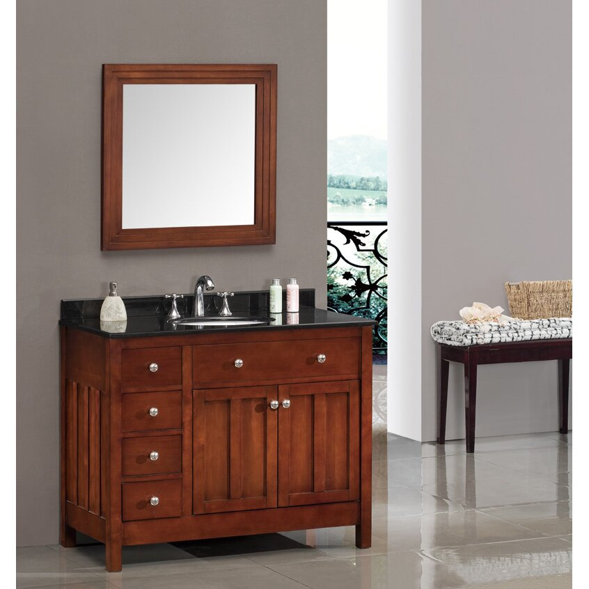 Ove Decors Lyon 42 Single Bathroom Vanity Set Reviews Wayfair