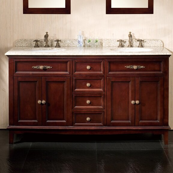 Ove Decors Roma 60 Double Bathroom Vanity Set Reviews Wayfair