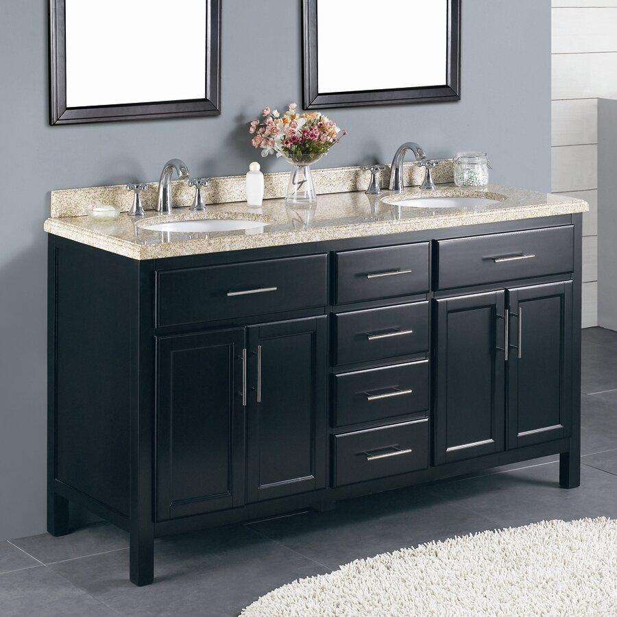 Ove Decors Milan 60 Double Bathroom Vanity Set Reviews Wayfair