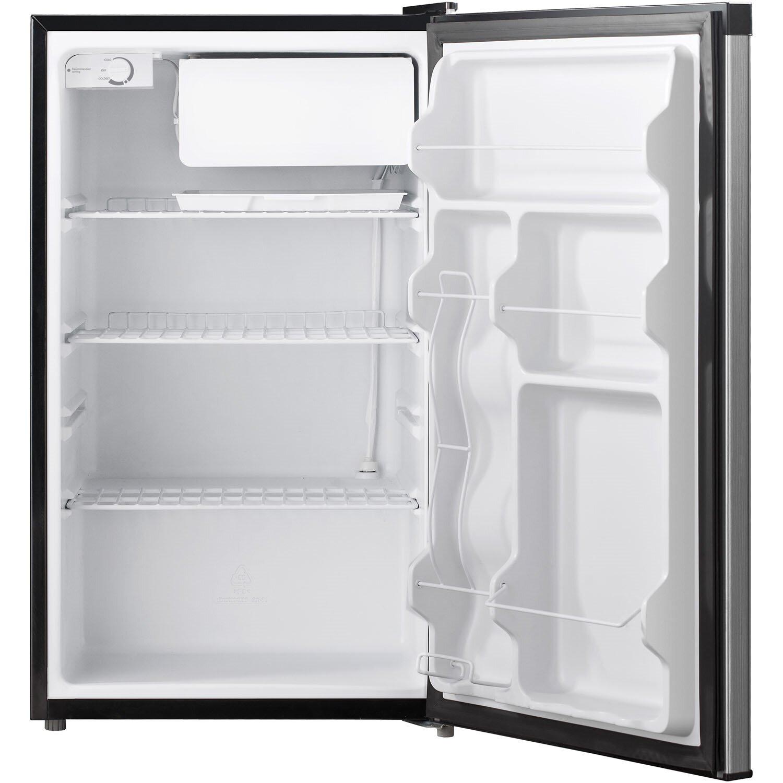 Keystone 4 4 Cu Ft Compact Refrigerator With Freezer