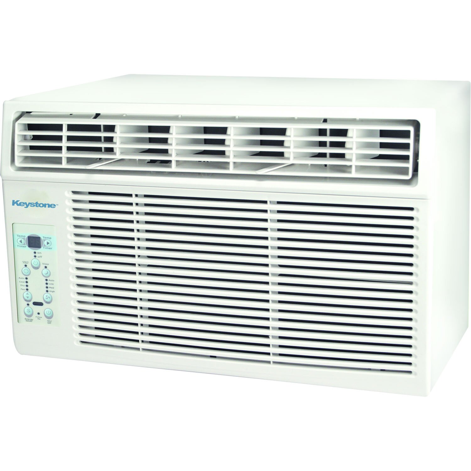 keystone 6000 btu window air conditioner with remote wayfair