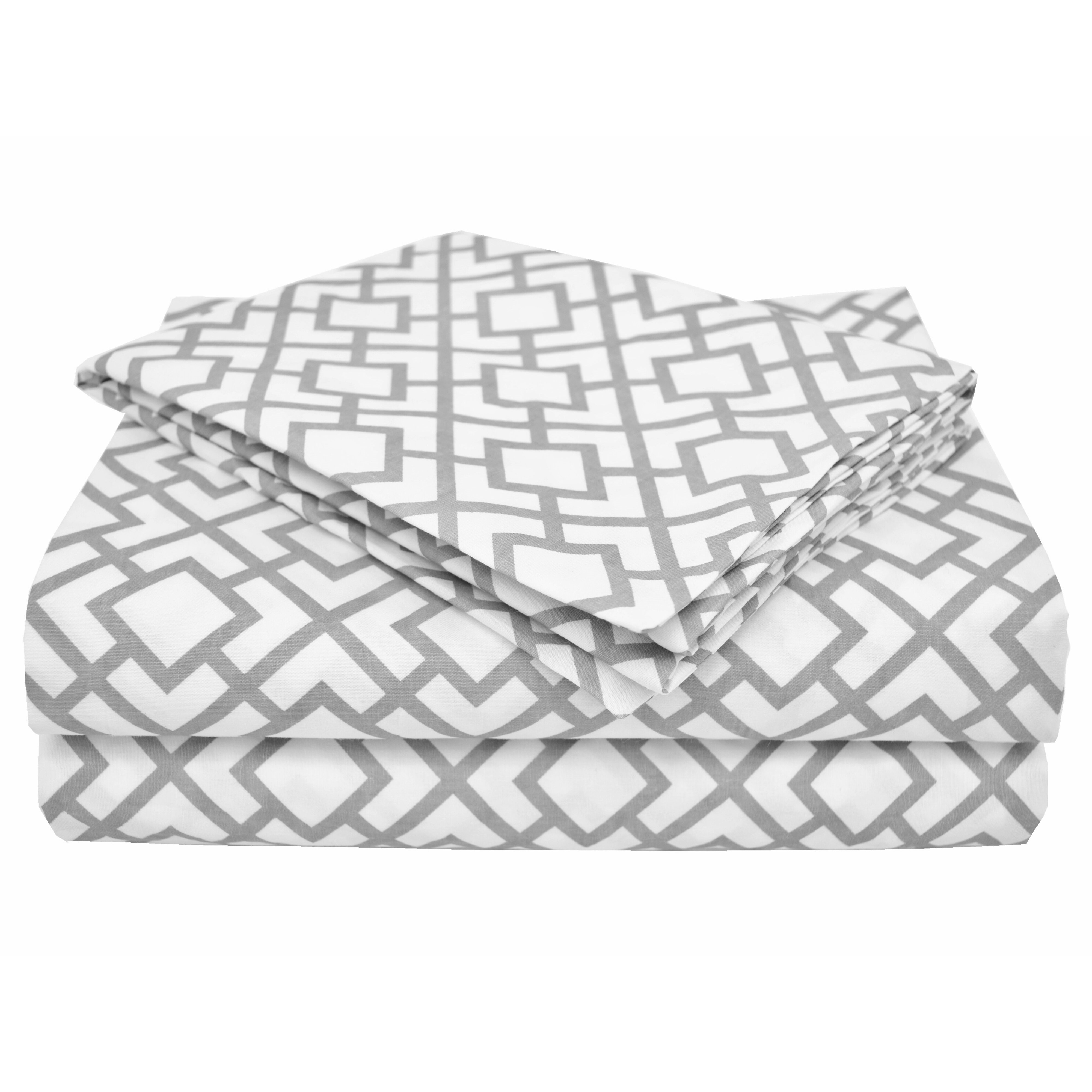 American Baby Company Percale 3 Piece Toddler Sheet Set