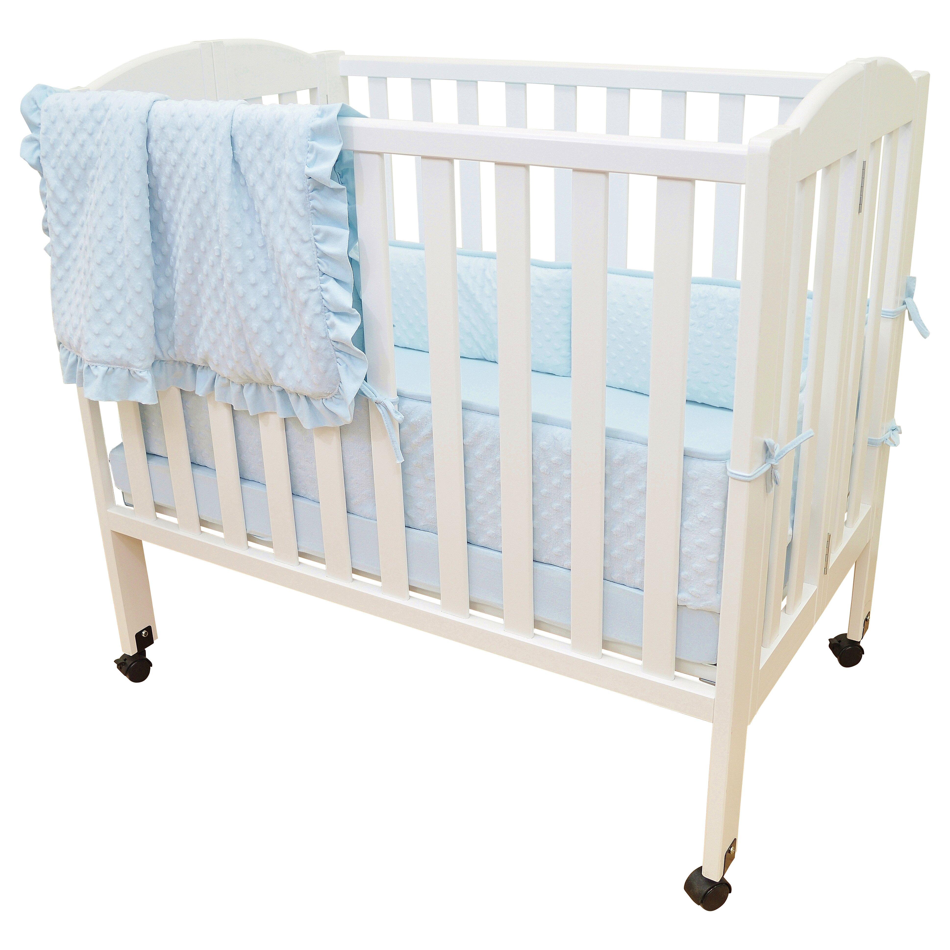 American Baby Company Heavenly Soft  Piece Crib Bedding Set