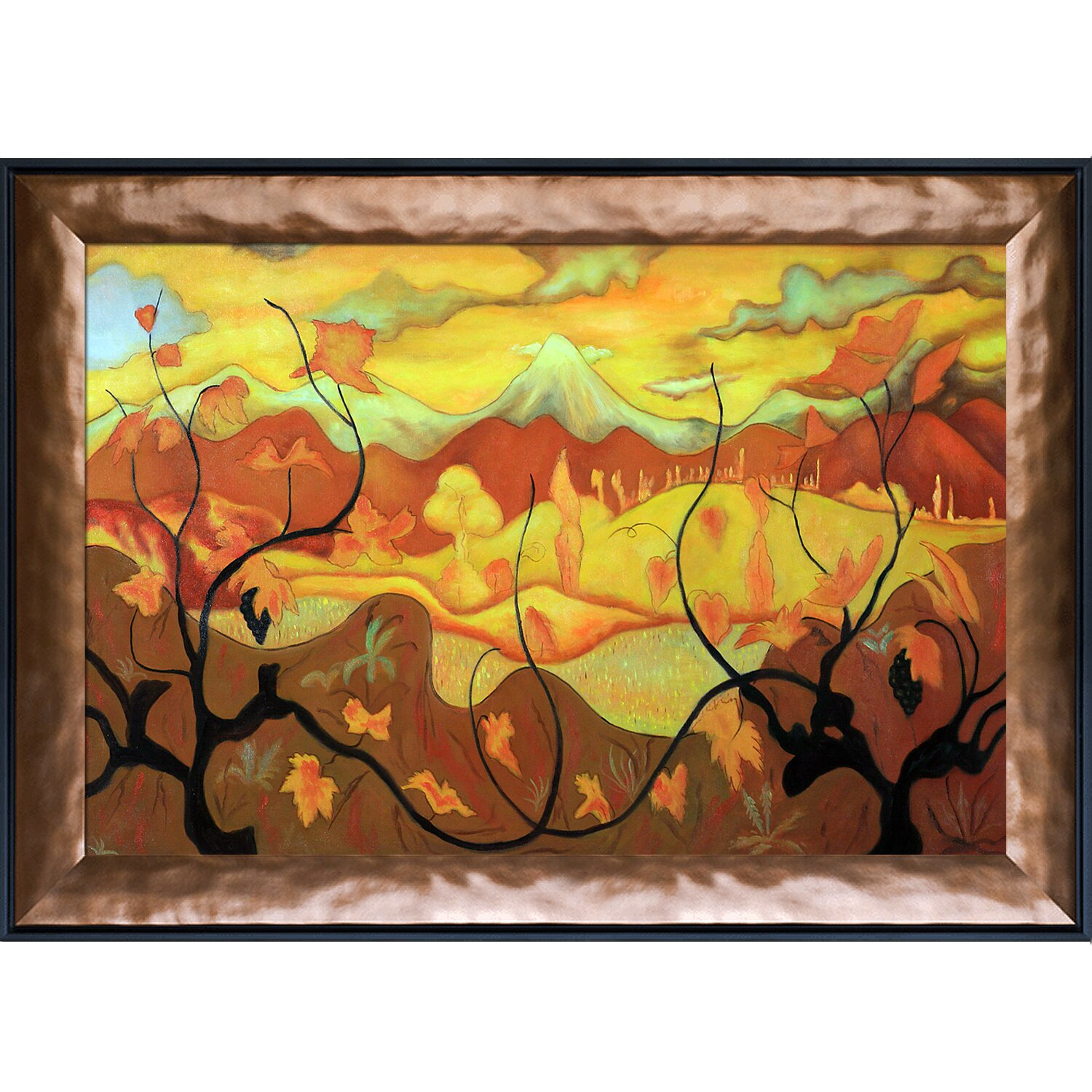 Tori Home Vines by Paul Ranson Painting Print on Canvas ...