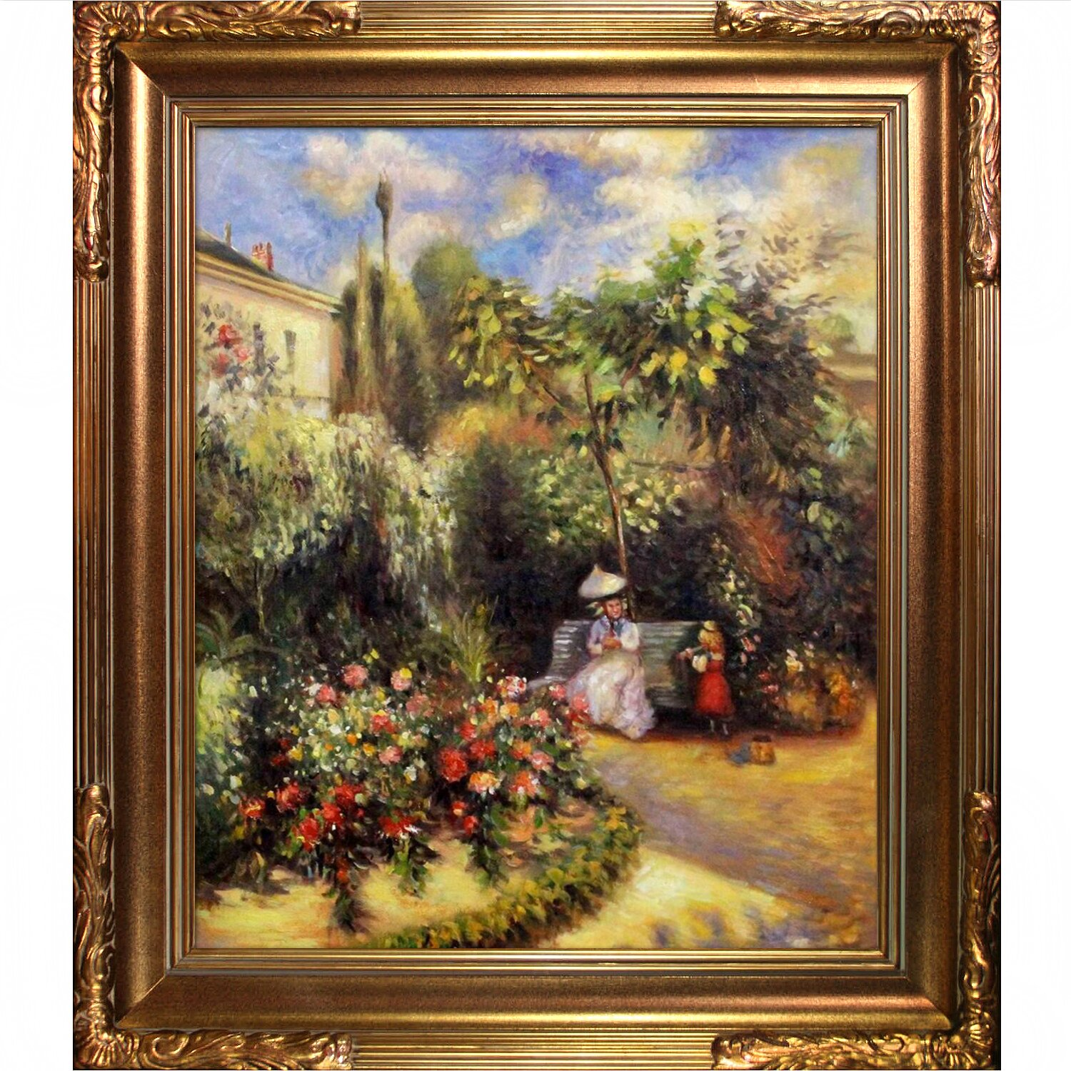 Tori Home The Garden At Pontoise By Camille Pissarro