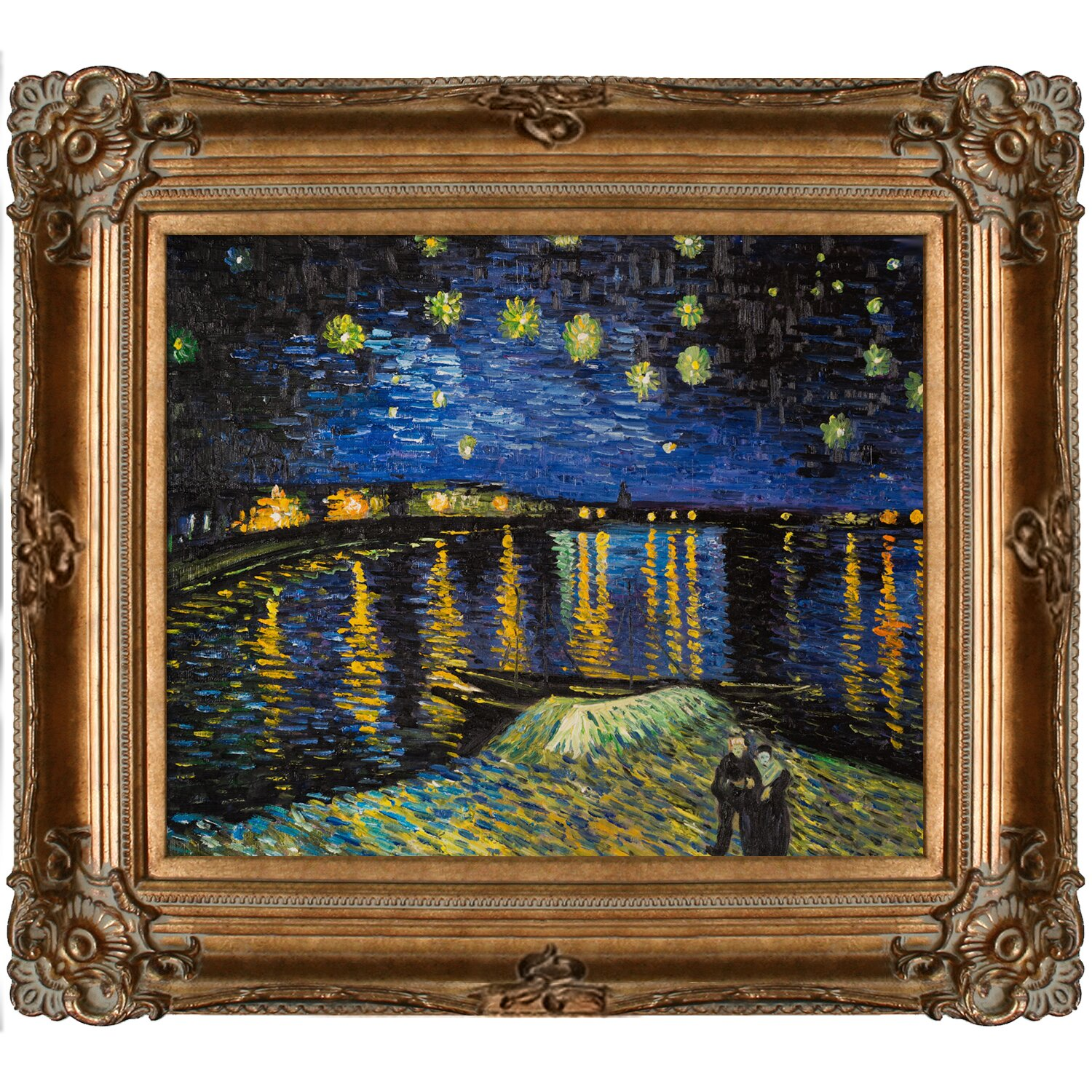tori home starry night over the rhone by vincent van gogh. Black Bedroom Furniture Sets. Home Design Ideas