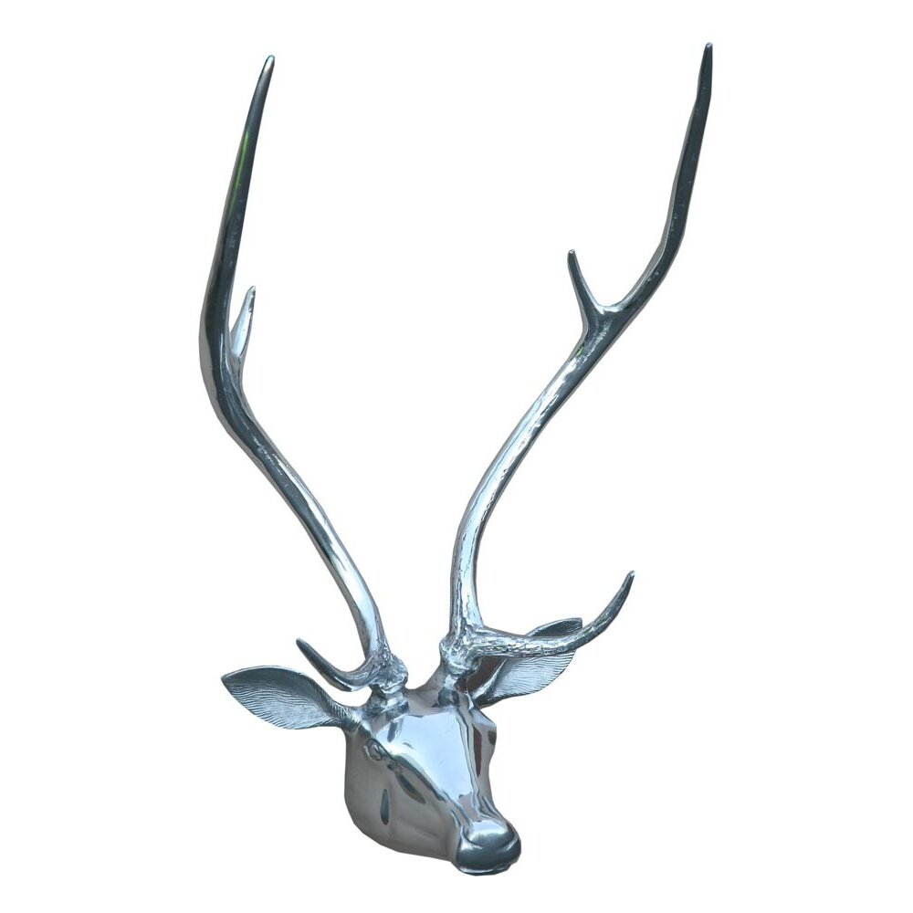 Trade Fair Stag 39 S Head Wall Sculpture Wayfair Uk
