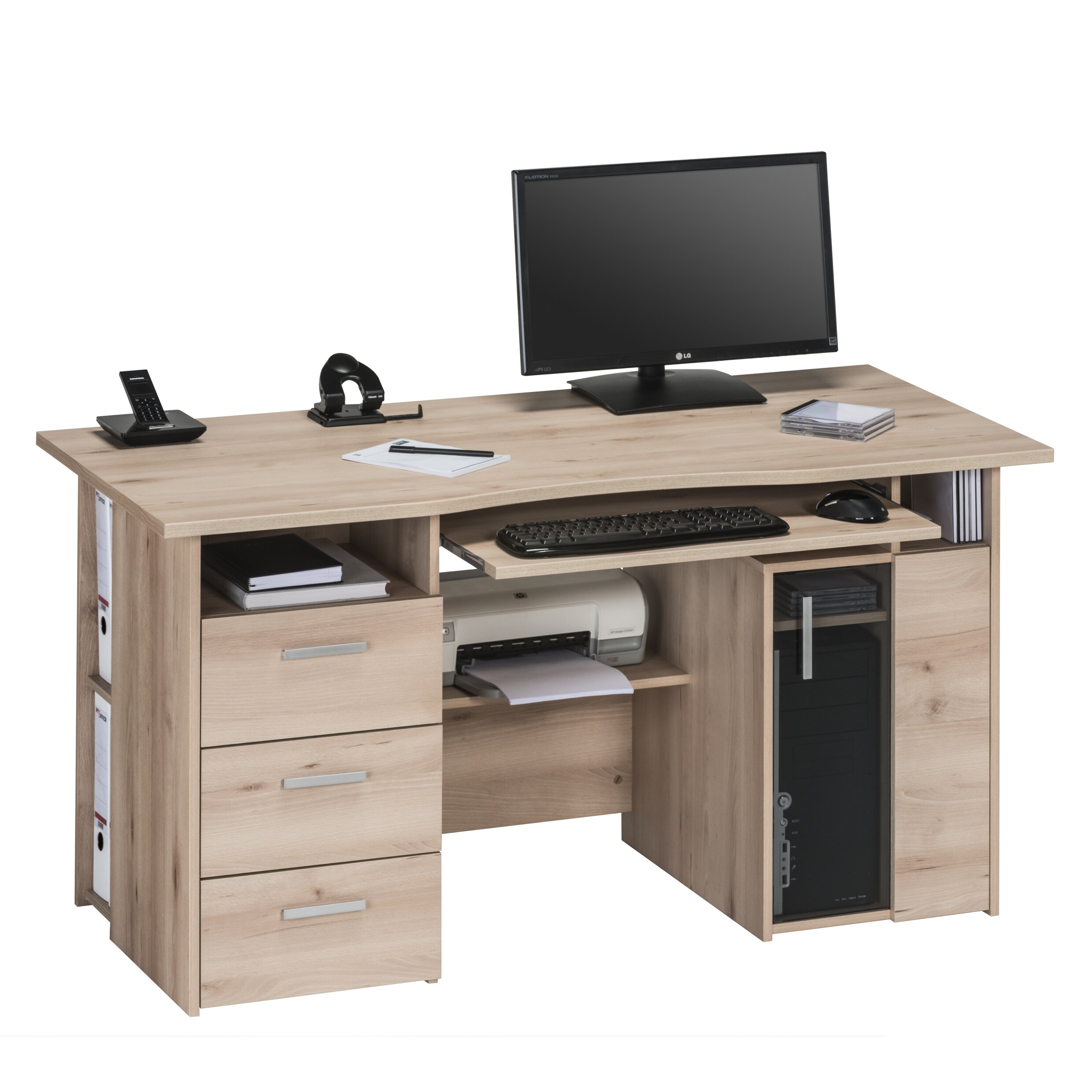 maja m bel maja computer desk reviews wayfair uk. Black Bedroom Furniture Sets. Home Design Ideas