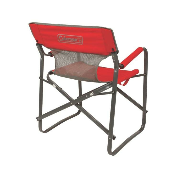 Coleman Steel Deck Chair & Reviews