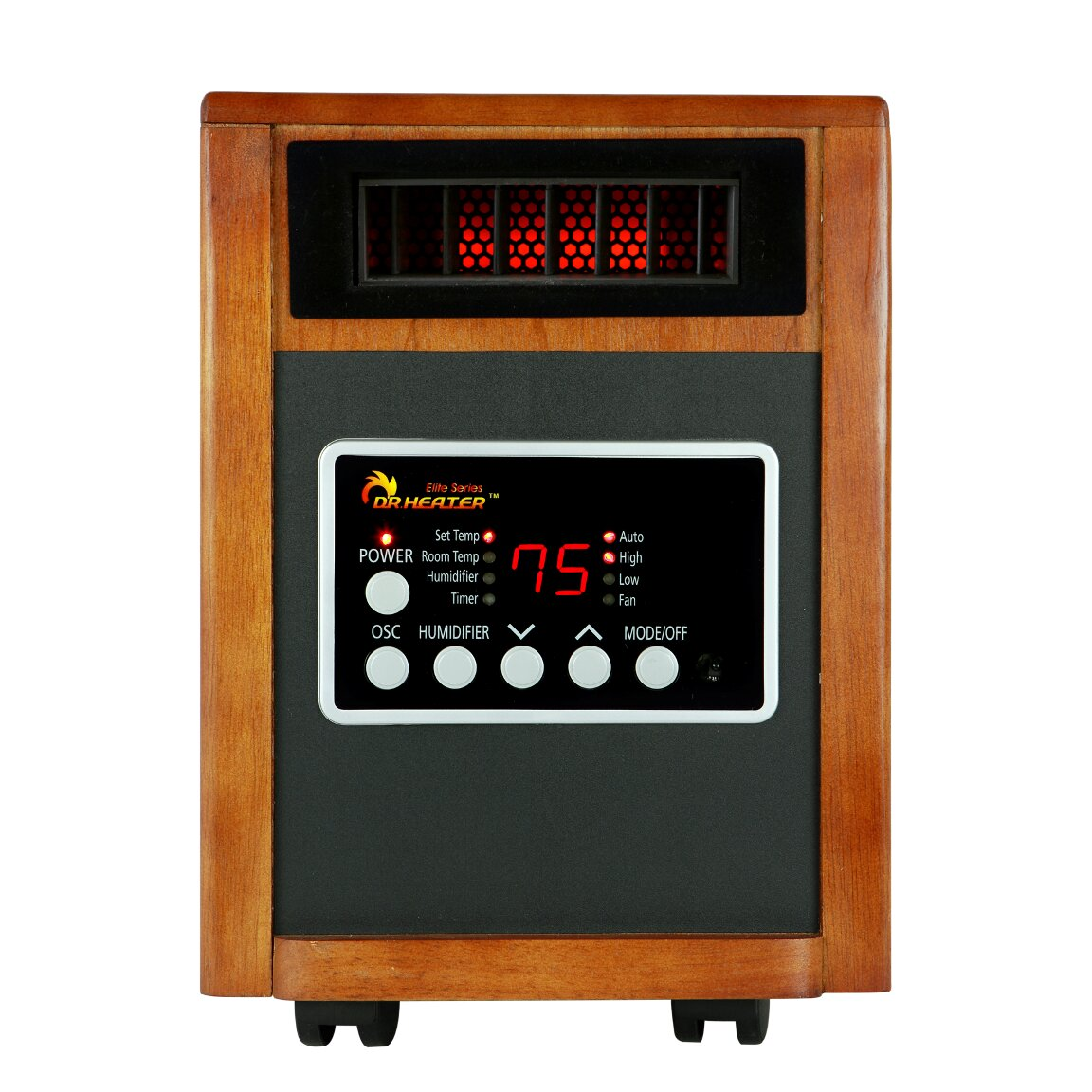Infrared Cabinet Heater with Humidifier by Dr. Infrared Heater