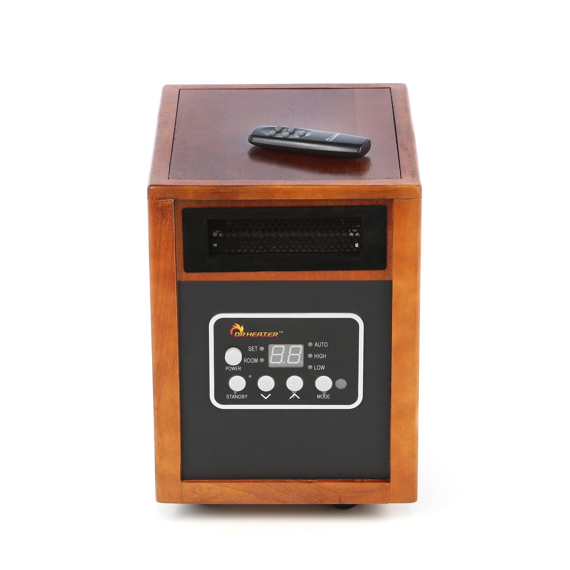 Watt Portable Electric Infrared Cabinet Heater by Dr. Infrared Heater