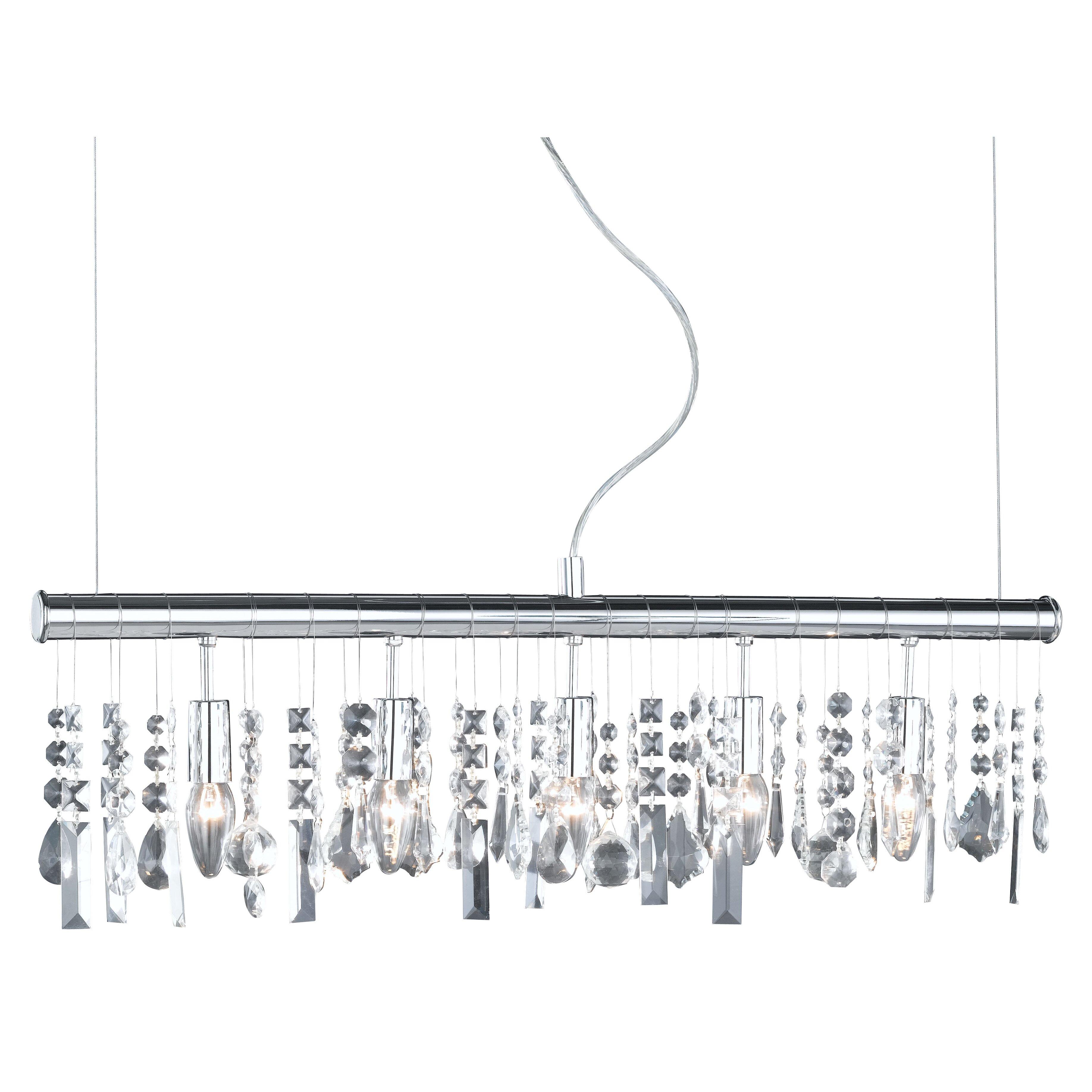 action crystal 5 light pendant lamp reviews wayfair uk. Black Bedroom Furniture Sets. Home Design Ideas