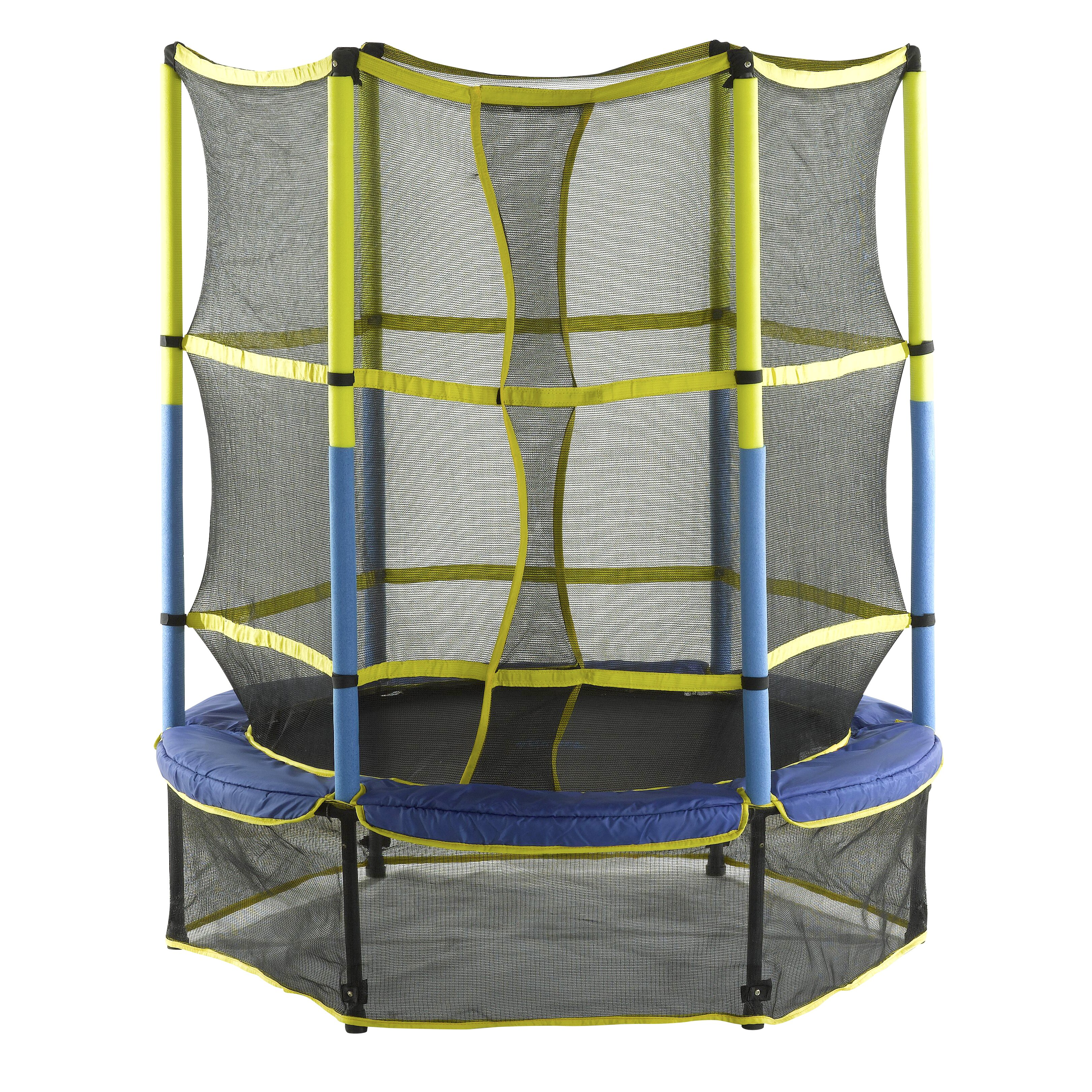 "Kid Trampoline Lafayette: Upper Bounce 55"" Kids Trampoline With Enclosure & Reviews"