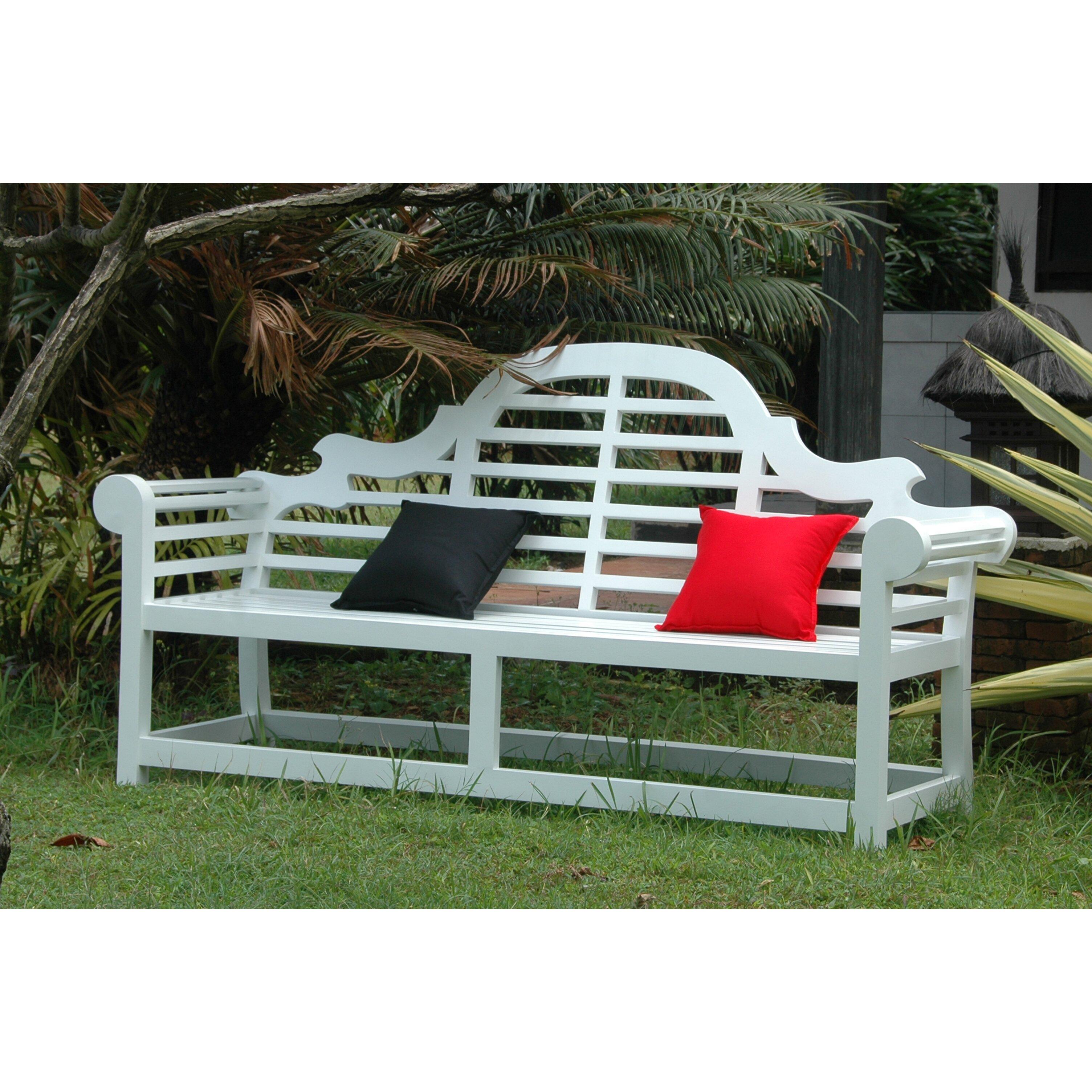 Anderson Teak Marlborough 3 Seater Teak Garden Bench