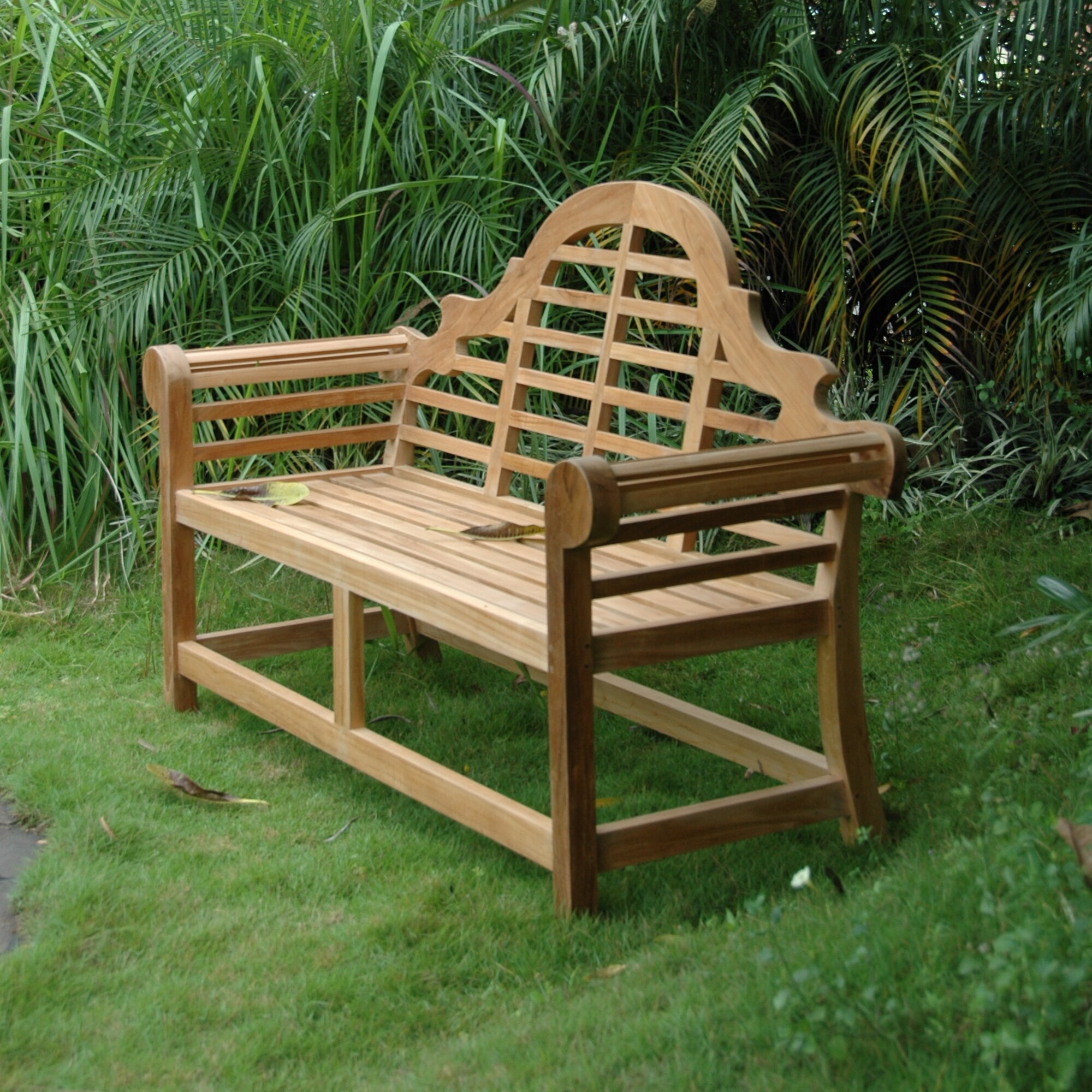 Anderson Teak Marlborough Teak Garden Bench Wayfair