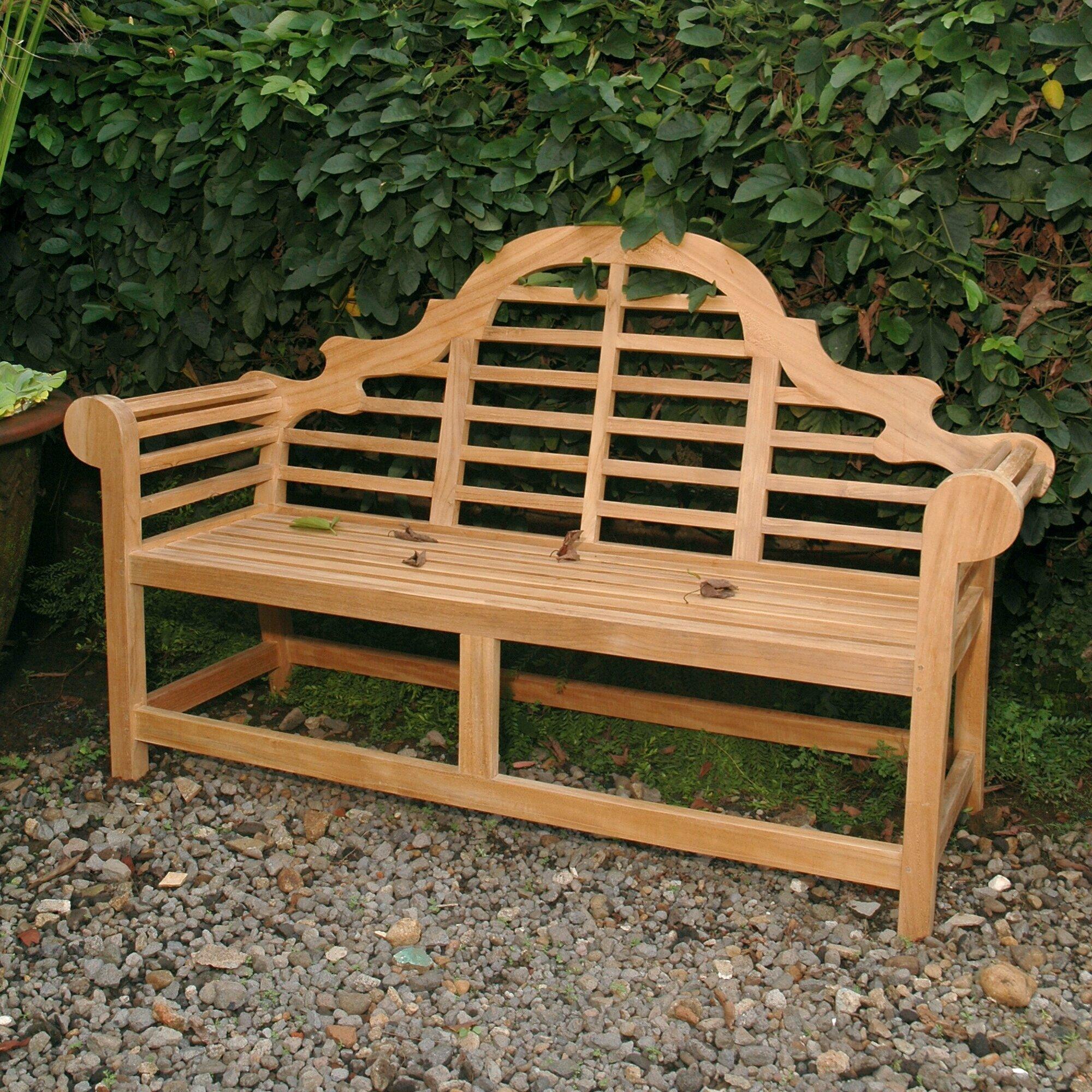 Anderson Teak Marlborough Teak Garden Bench | Wayfair