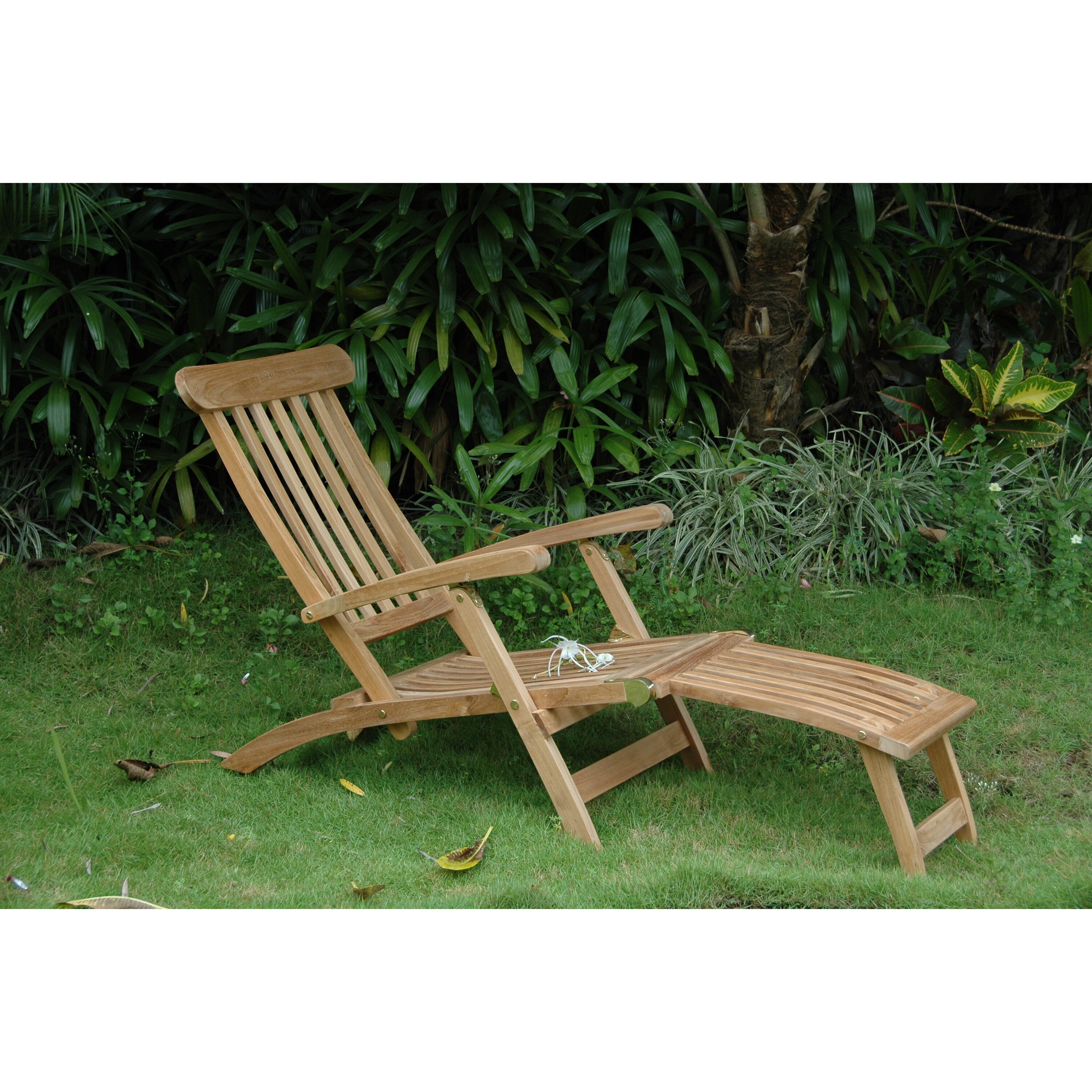 Anderson Teak Royal Steamer Lounge Chair Wayfair