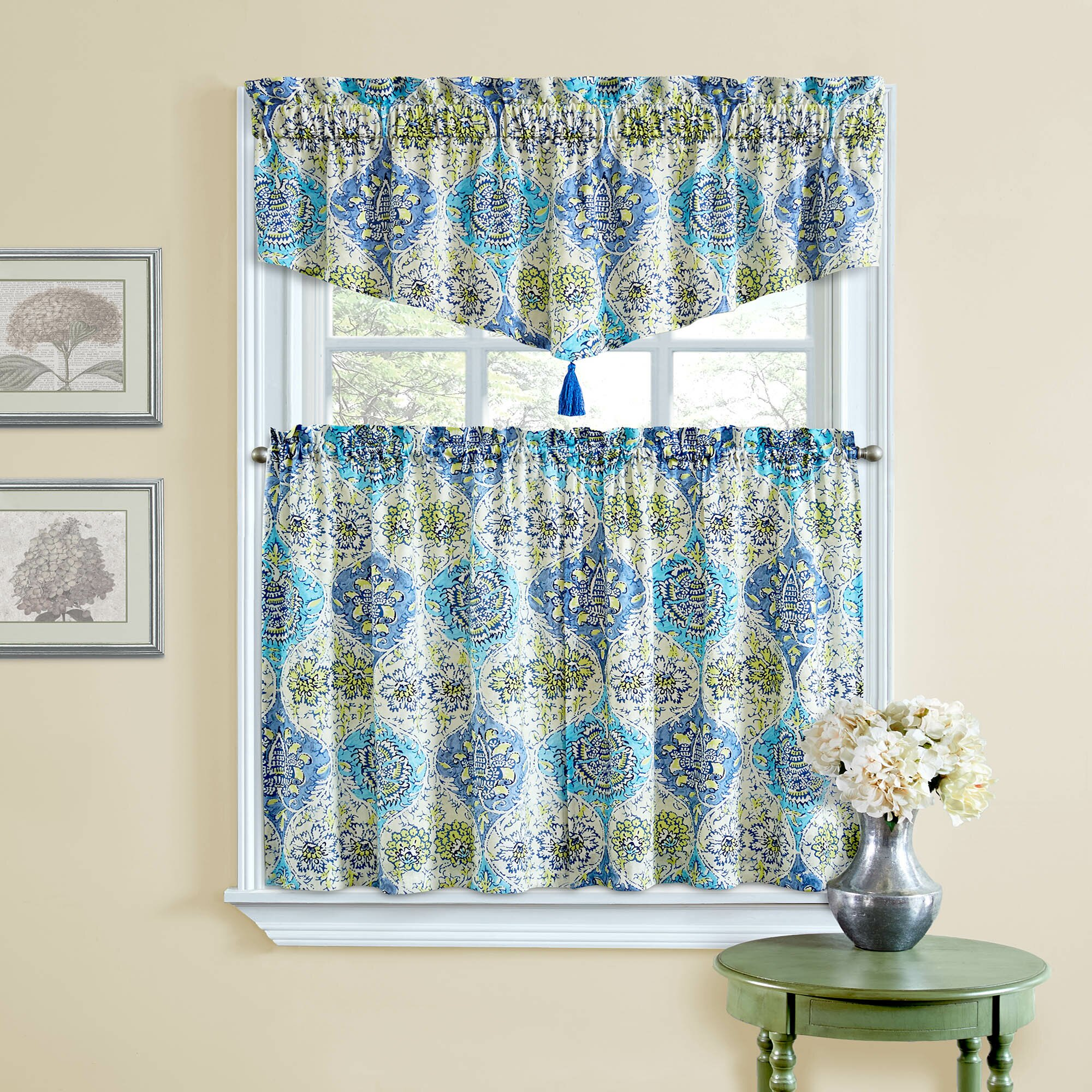 Waverly Kings Turban Tier Curtain & Reviews