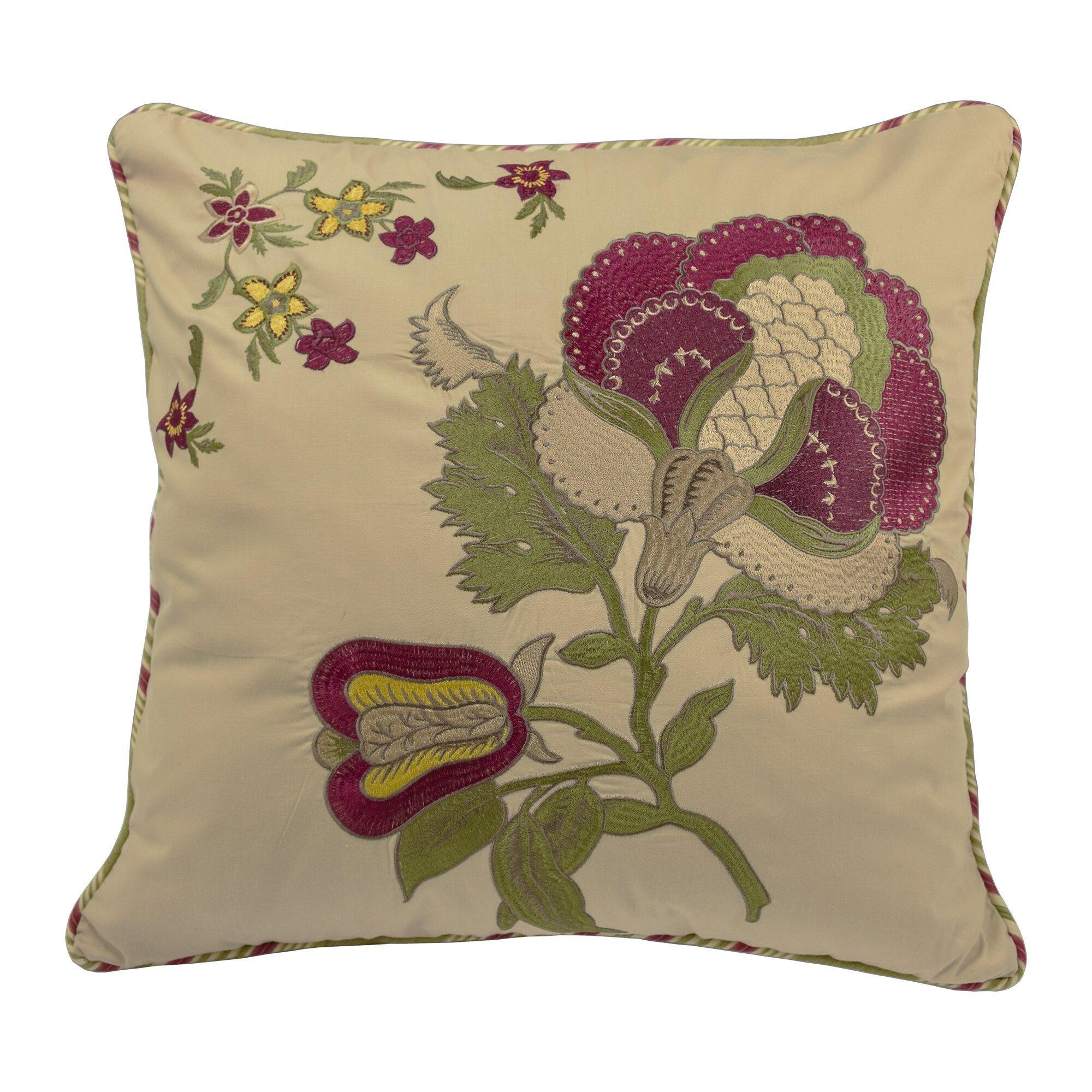Waverly Decorative Throw Pillows : Waverly Imperial Dress Cotton Throw Pillow & Reviews Wayfair.ca